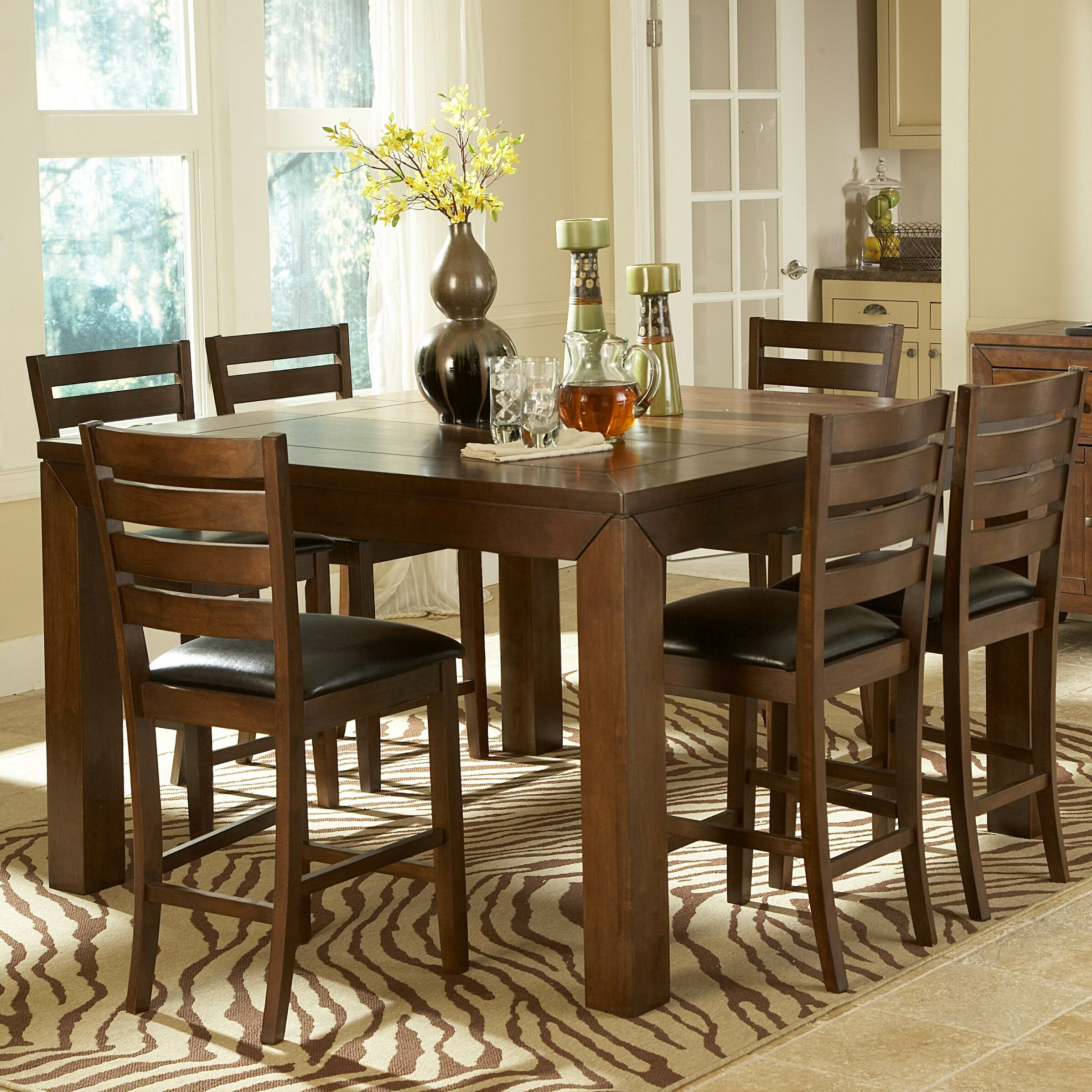 Woodhaven Hill Eagleville 5 Piece Dining Set Reviews Wayfair