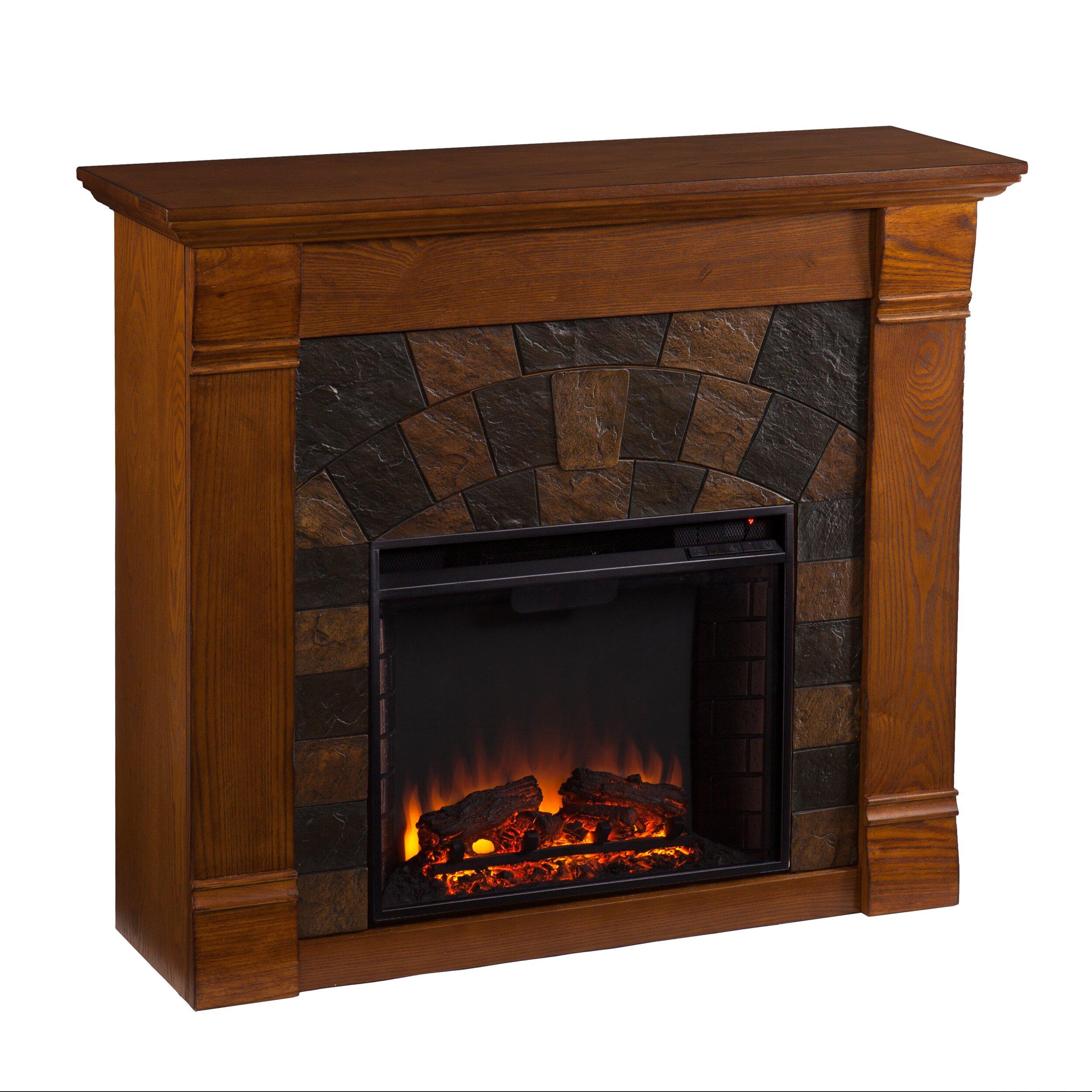 Woodhaven Hill Blake Electric Fireplace Reviews Wayfair