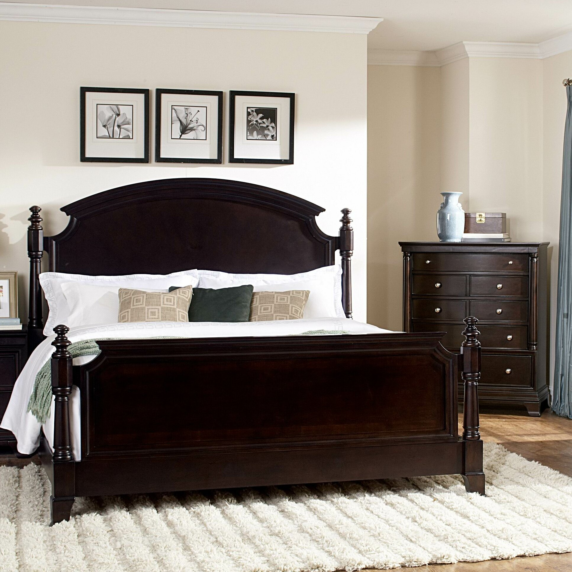 Woodhaven Hill Inglewood Panel Bed Reviews Wayfair