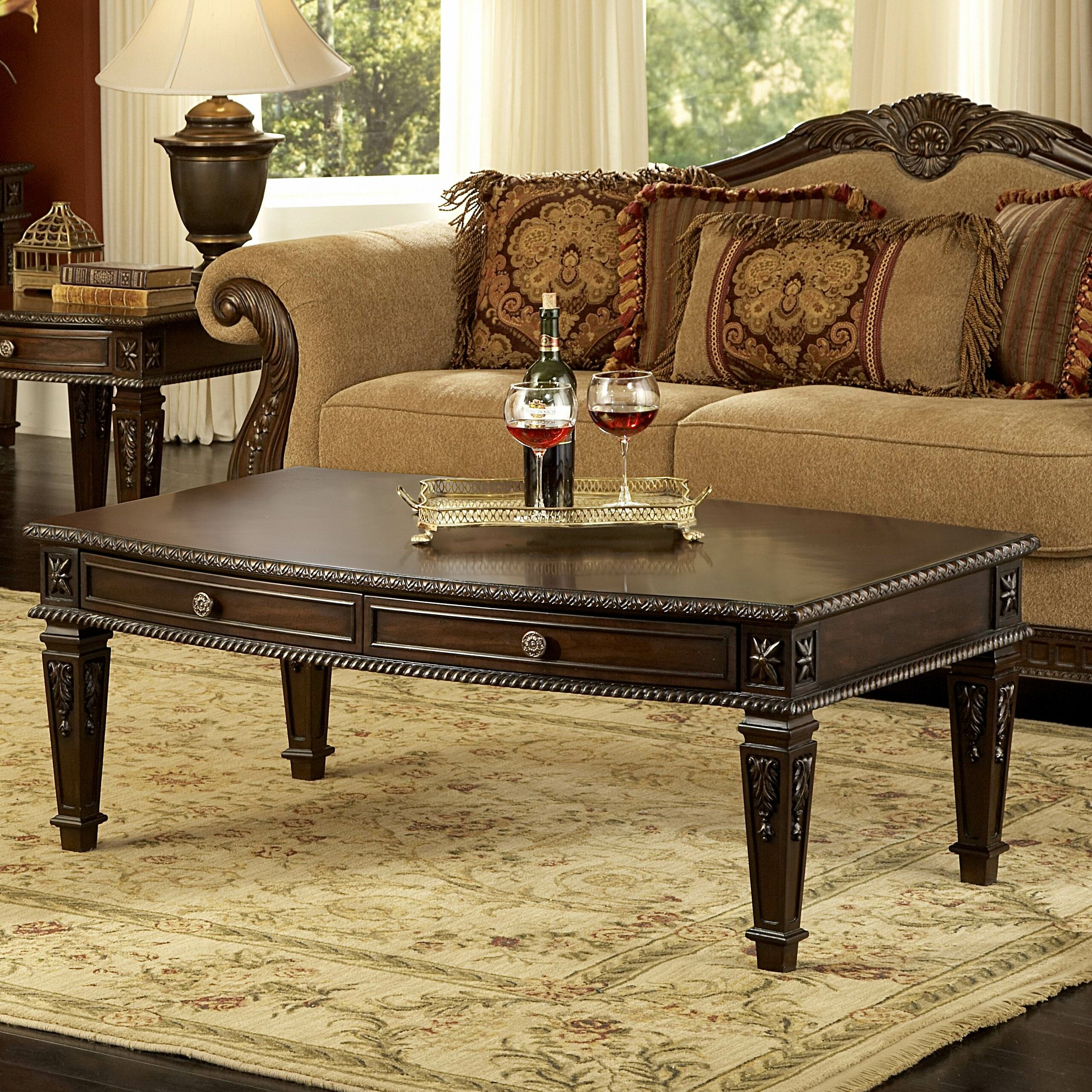 Woodhaven Hill Palace Coffee Table Reviews Wayfair