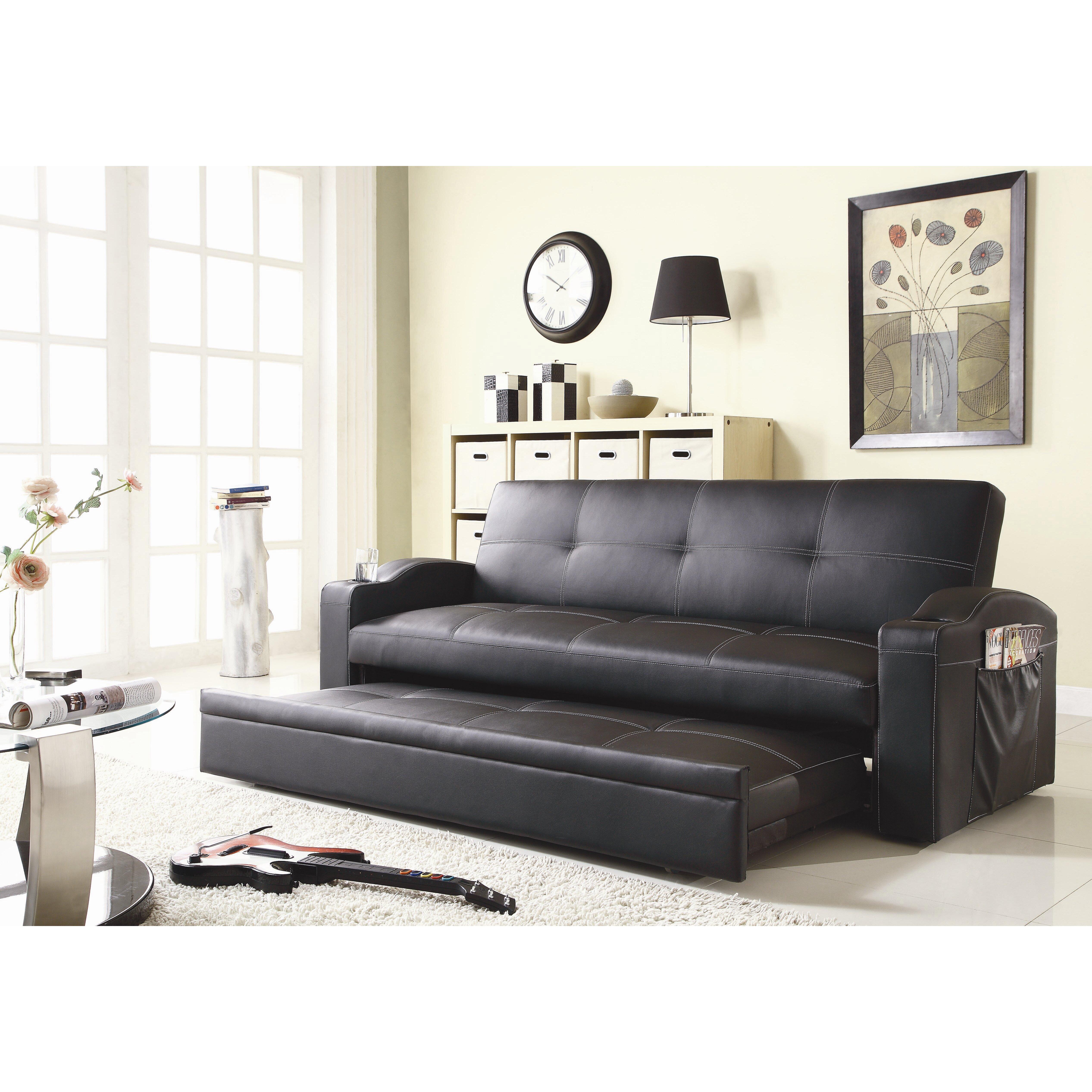 Woodhaven Hill Novak Sleeper Sofa u0026 Reviews : Wayfair