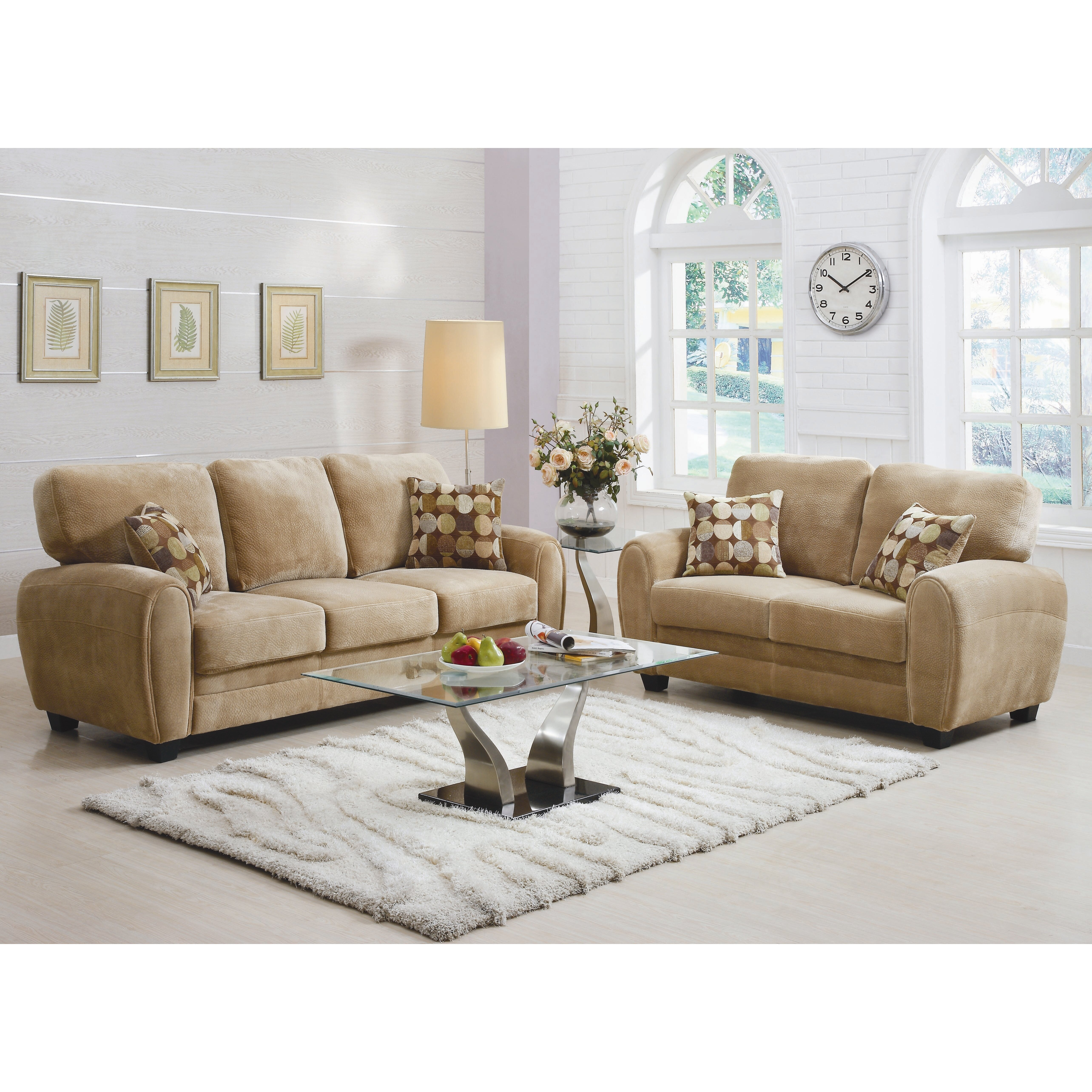 woodhaven hill rubin living room collection reviews wayfair. Black Bedroom Furniture Sets. Home Design Ideas