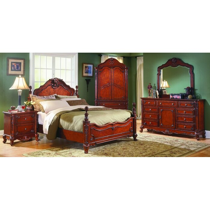 woodhaven hill 1385 series four poster customizable