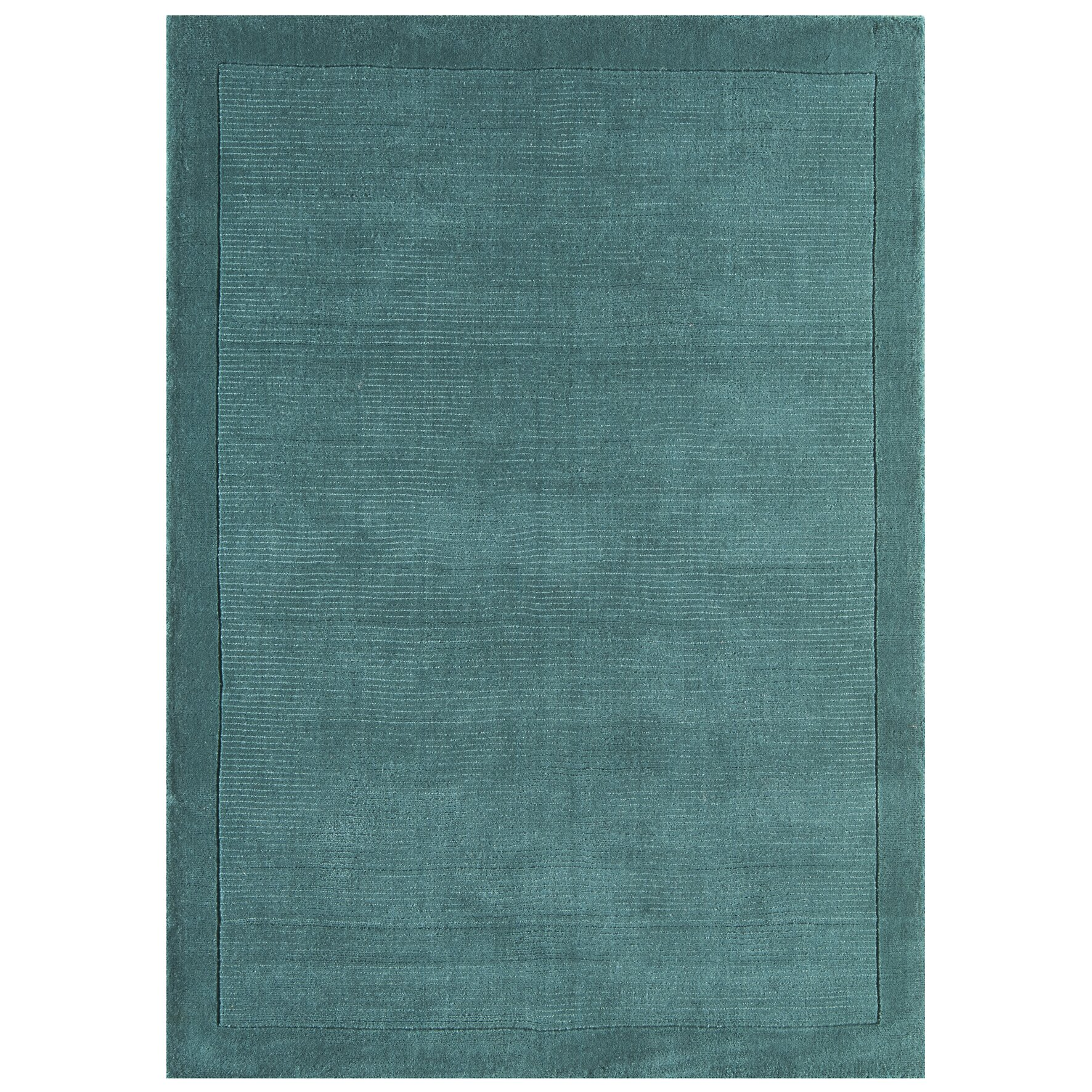 Asiatic Carpets Ltd Handgewebter Teppich York in Türkis