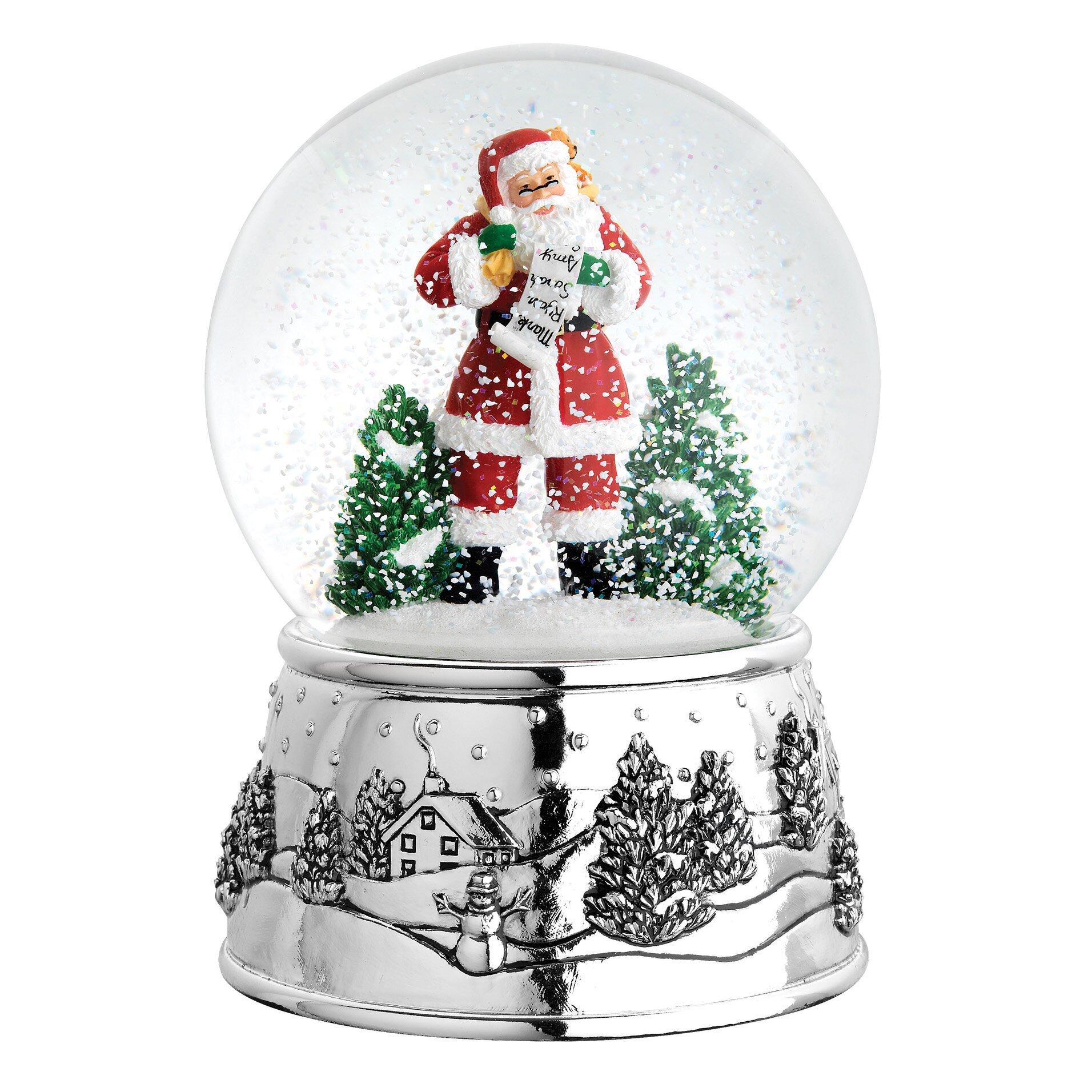 Reed Amp Barton Classic Christmas Snowglobe Amp Reviews Wayfair