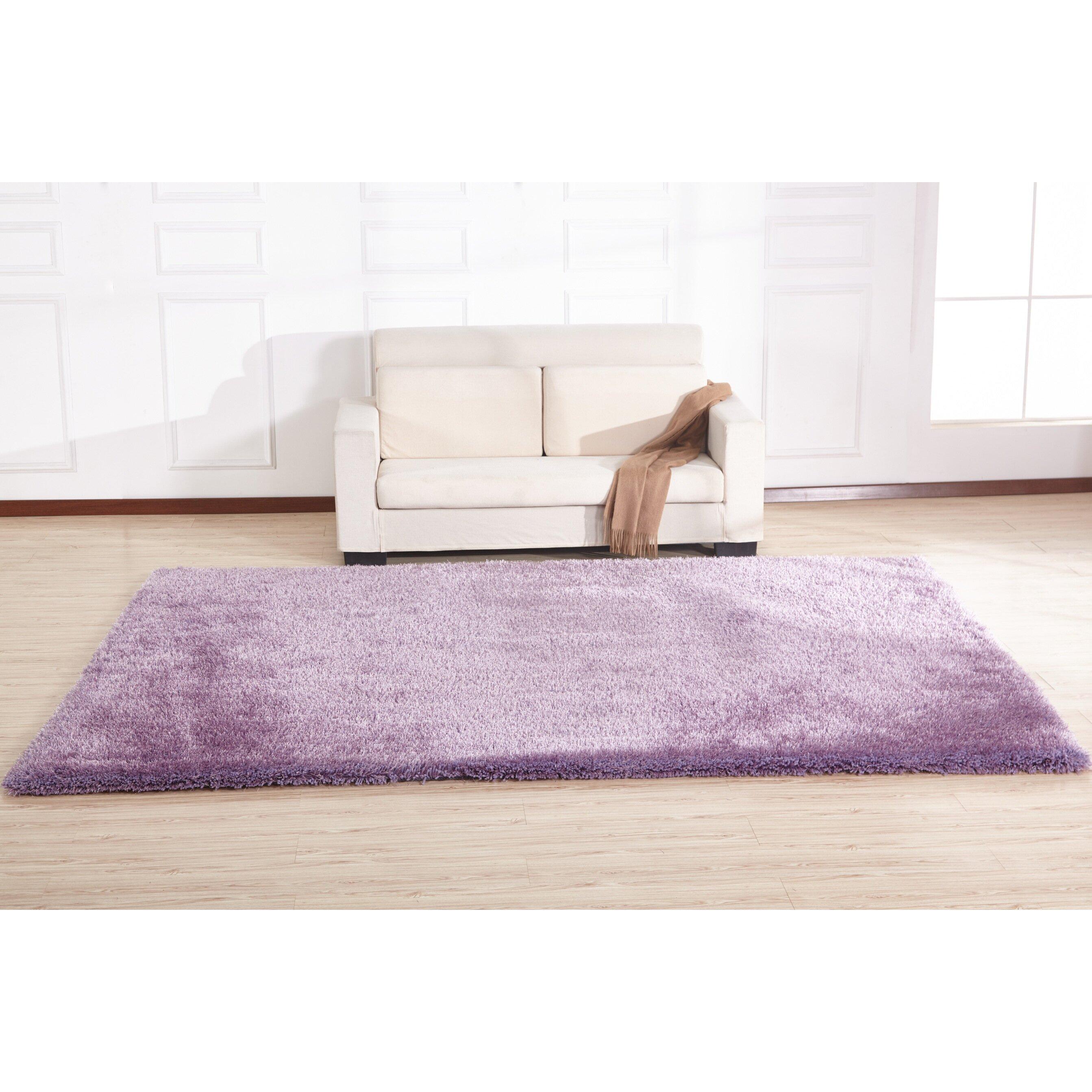 Lavender Rug: Rug Factory Plus Hand-Tufted Lavender Area Rug & Reviews
