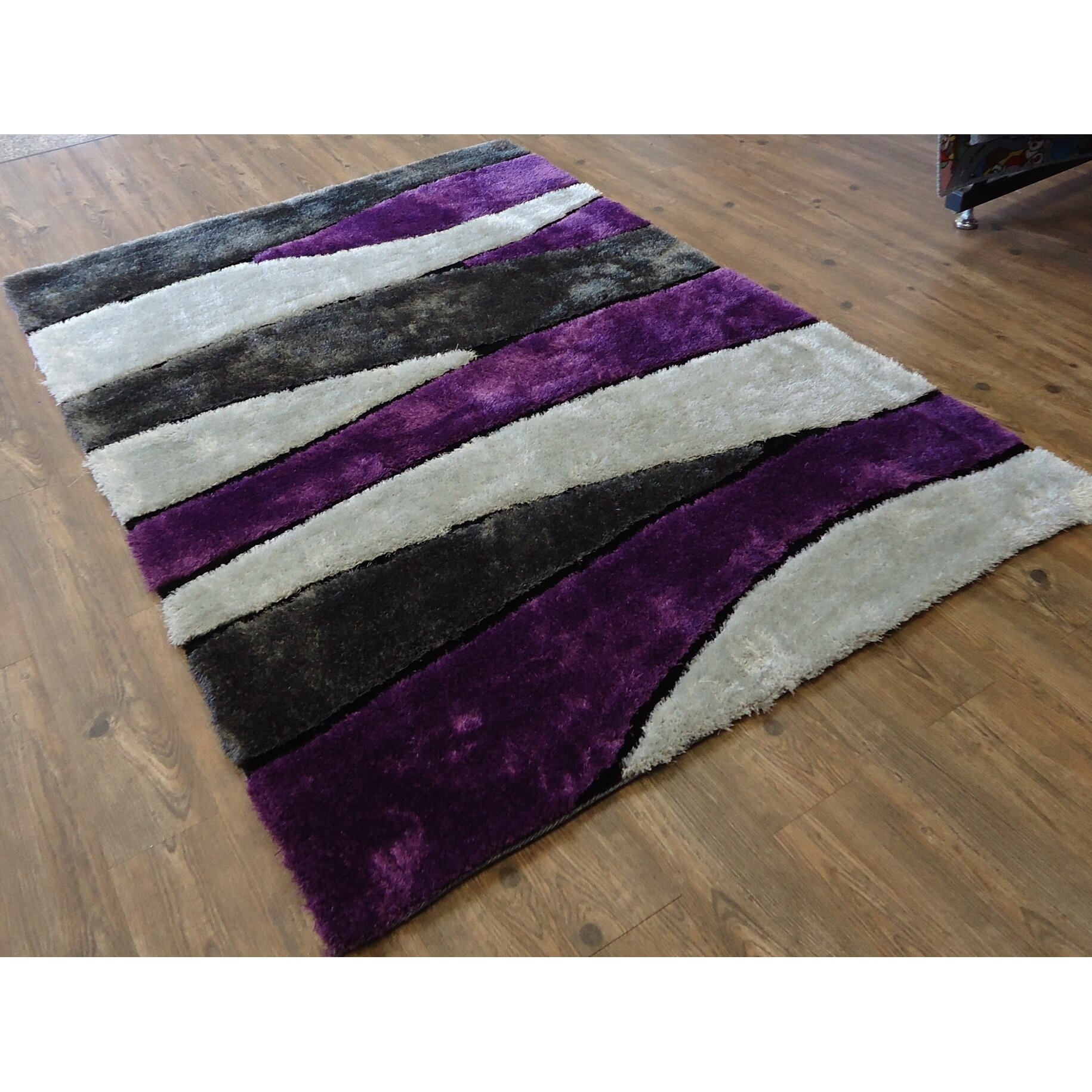 Purple And Gray Area Rugs
