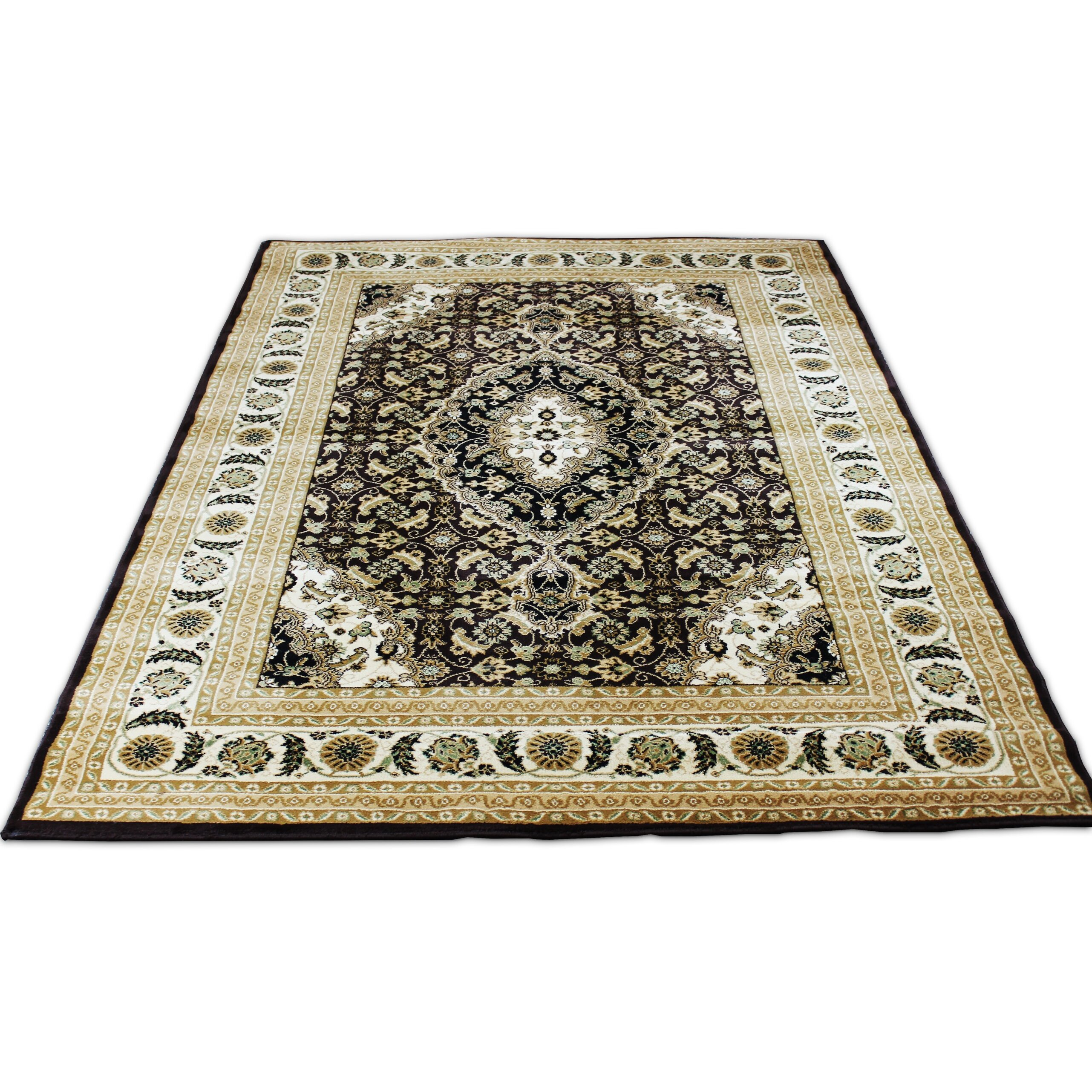 Brown area rugs artistic weavers central park kate awhp4014 brown area rug payless rugs