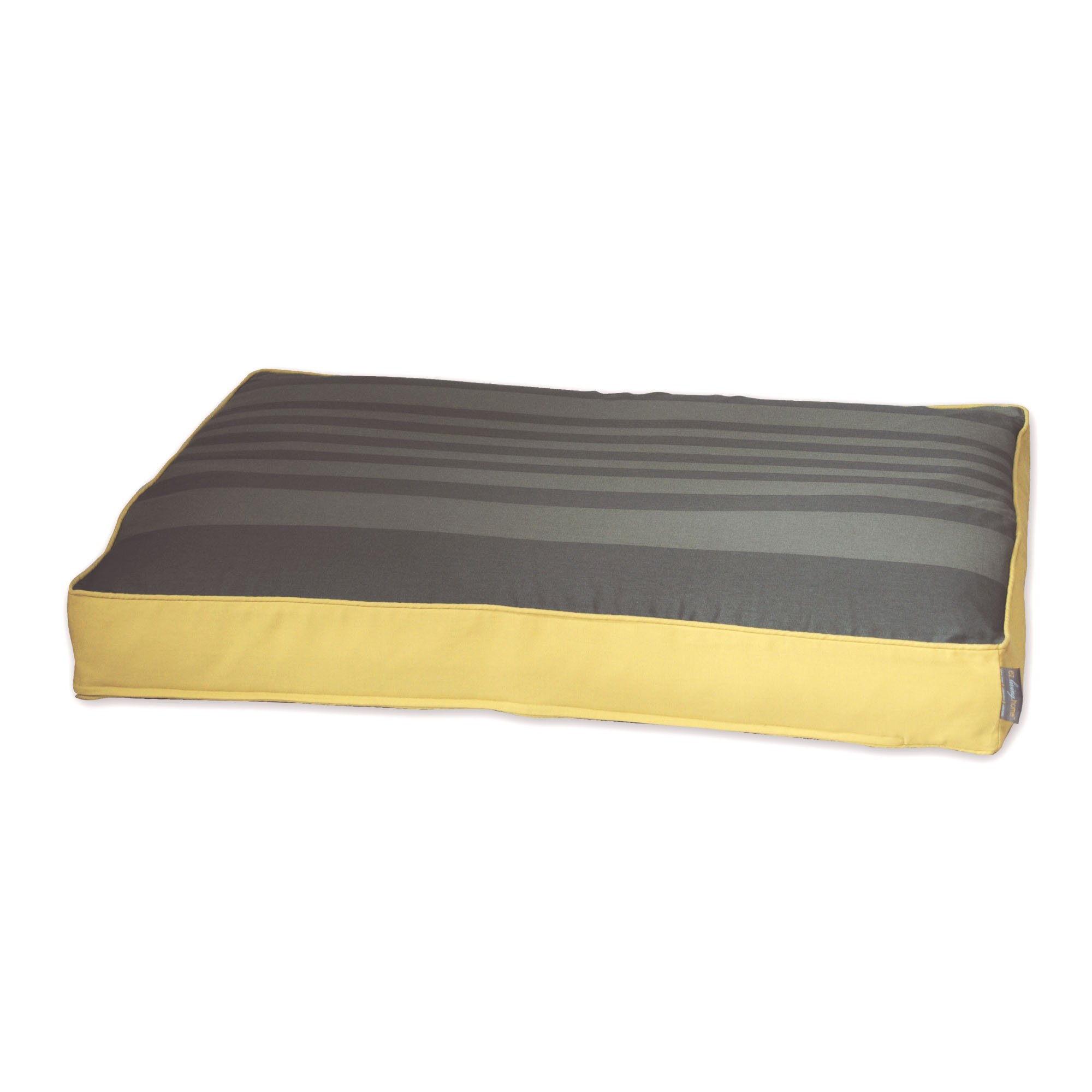 EZ Living Home Tonal Stripe Memory Foam Topper Pet Pillow Bed Reviews