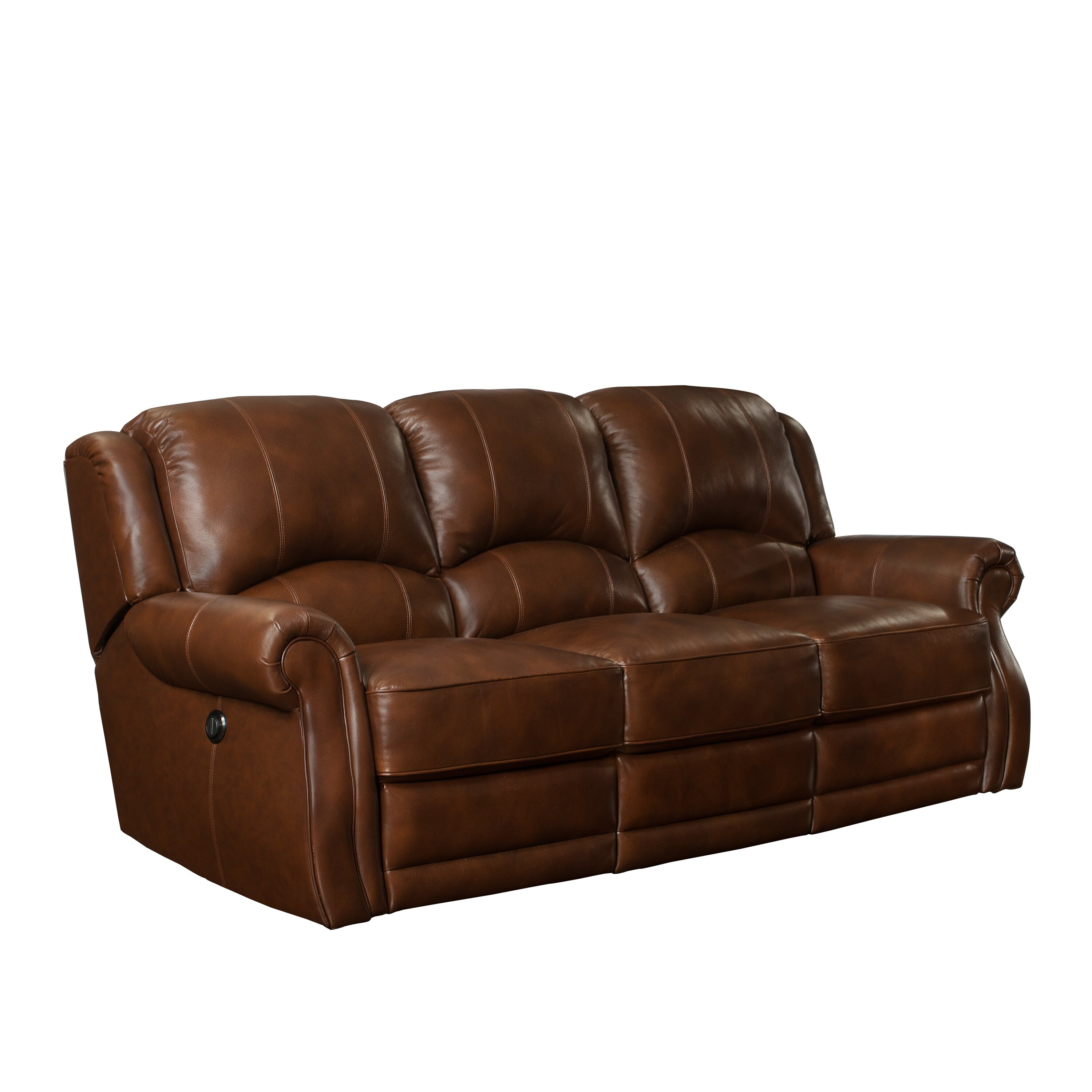 Barcalounger Cedar Hill Casual Comforts Power Leather