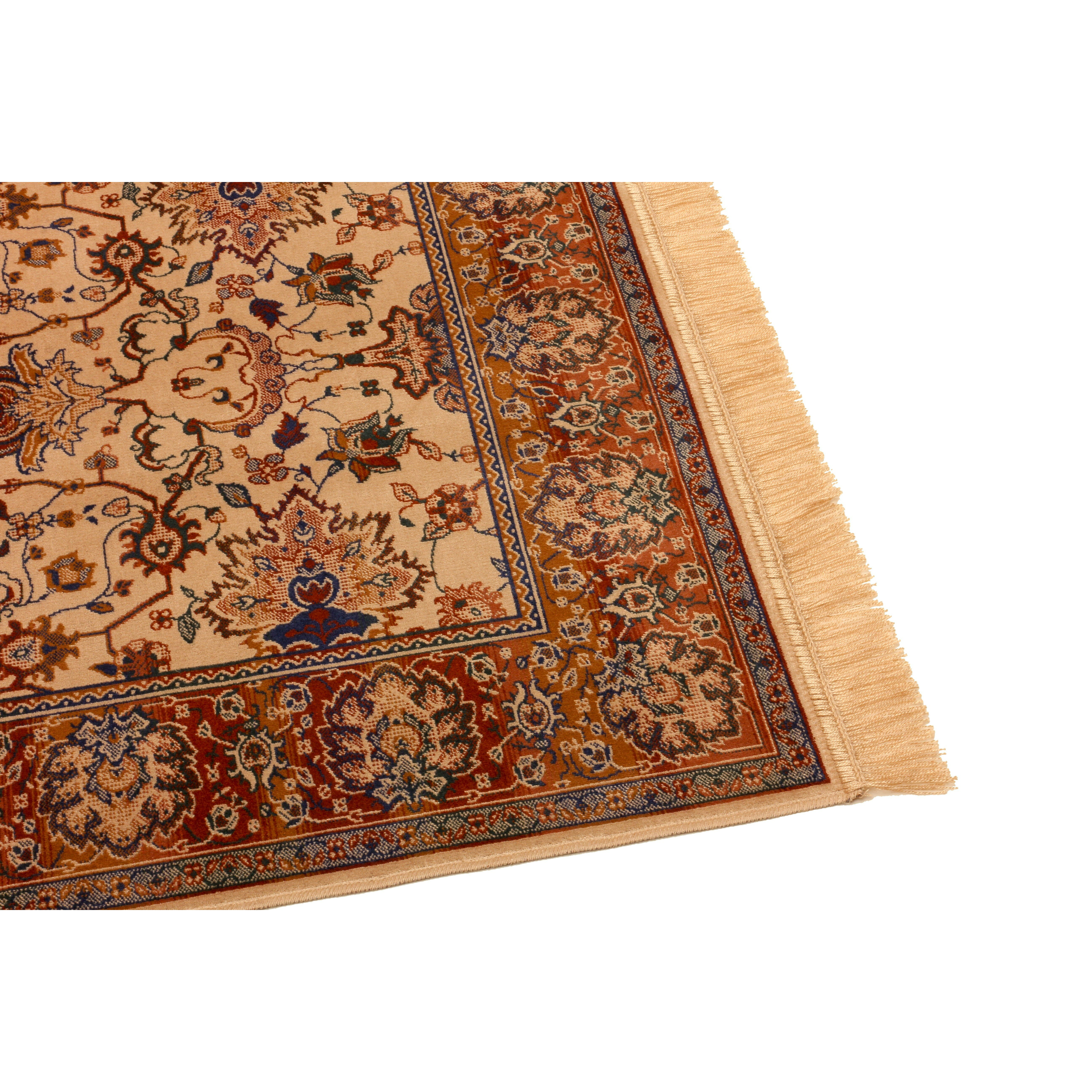 Barefoot Artsilk Rugs Indian Agra Brown Area Rug & Reviews