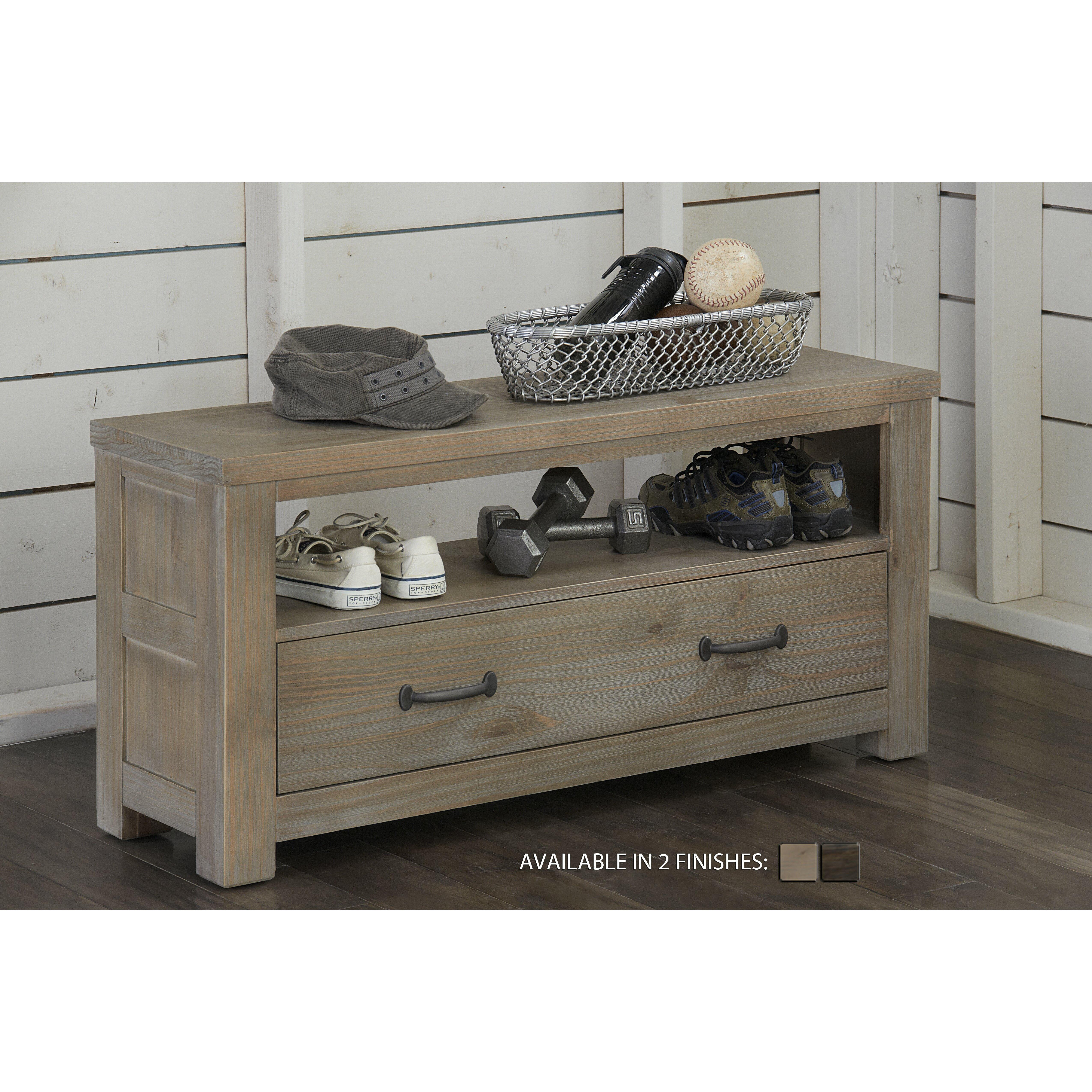 Ne Kids Highlands Wood Storage Bench Reviews Wayfair
