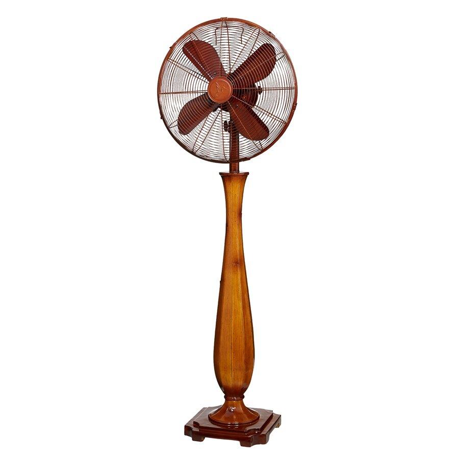 Deco Breeze Sambuca Oscillating Floor Fan Reviews Wayfair