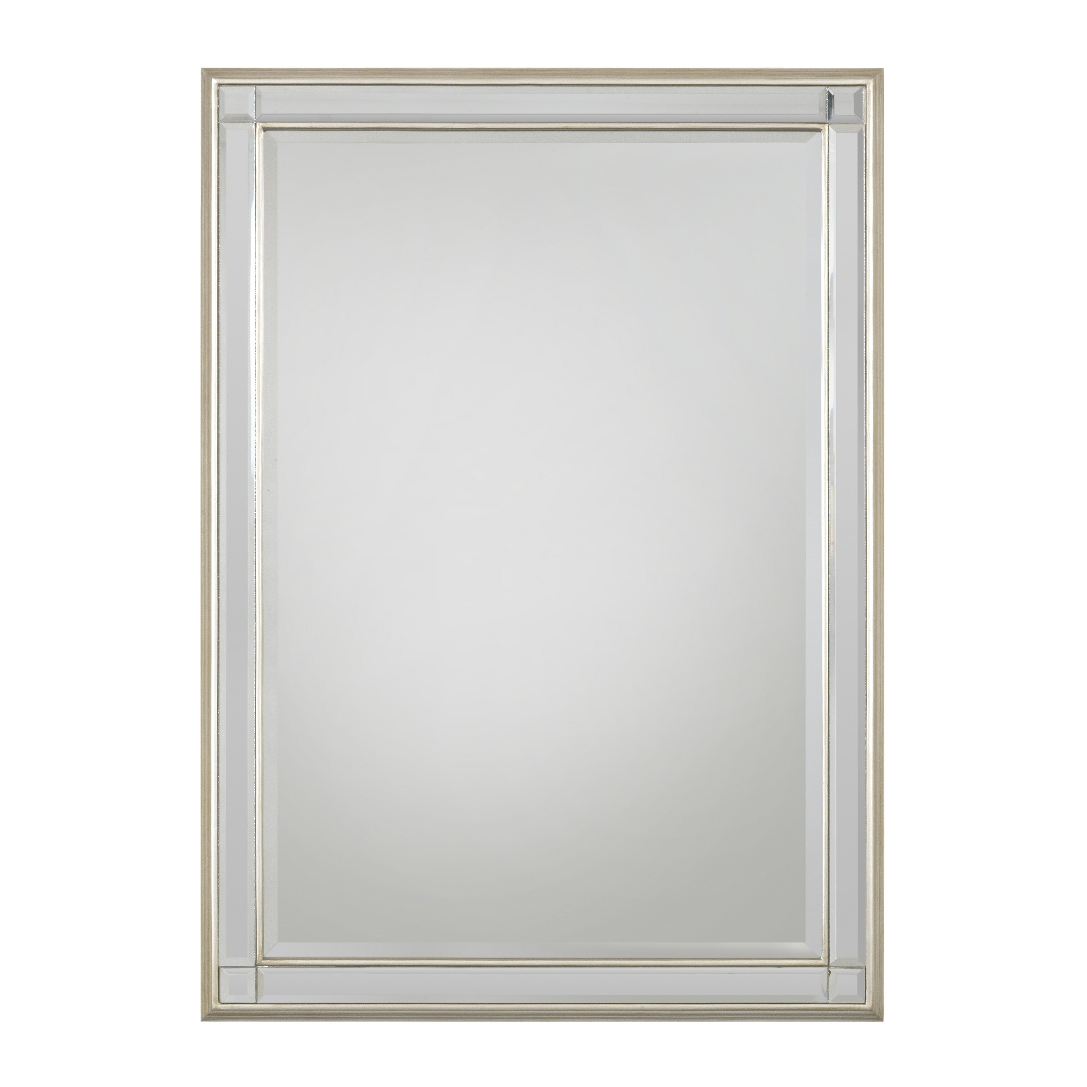 Selections by chaumont chelsea rectangle mirror wayfair for Rectangle mirror