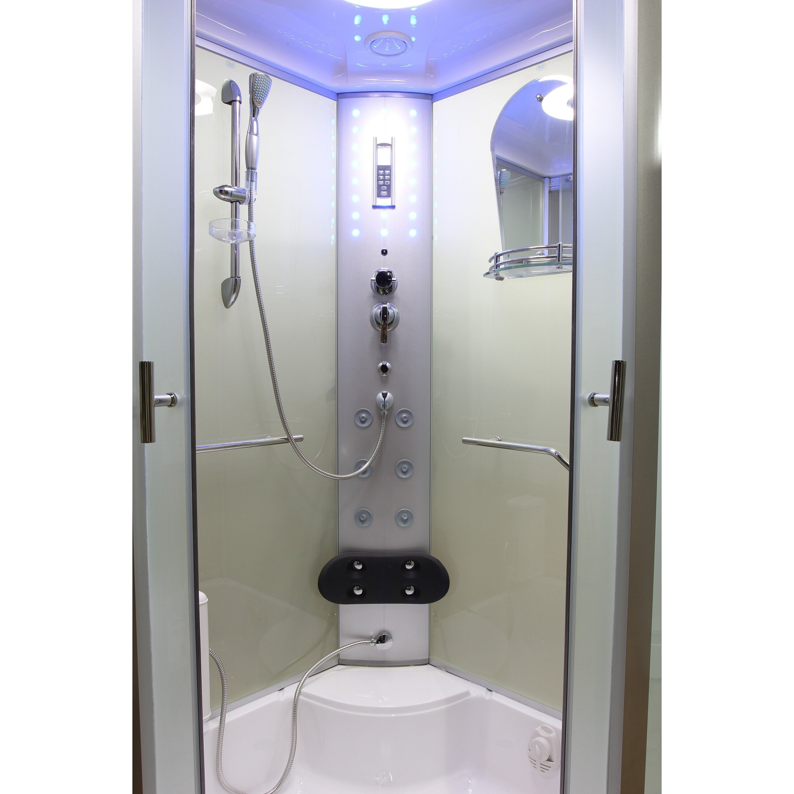 Eagle Bath 36 Quot X 36 Quot X 86 2 Quot Sliding Door Steam Shower