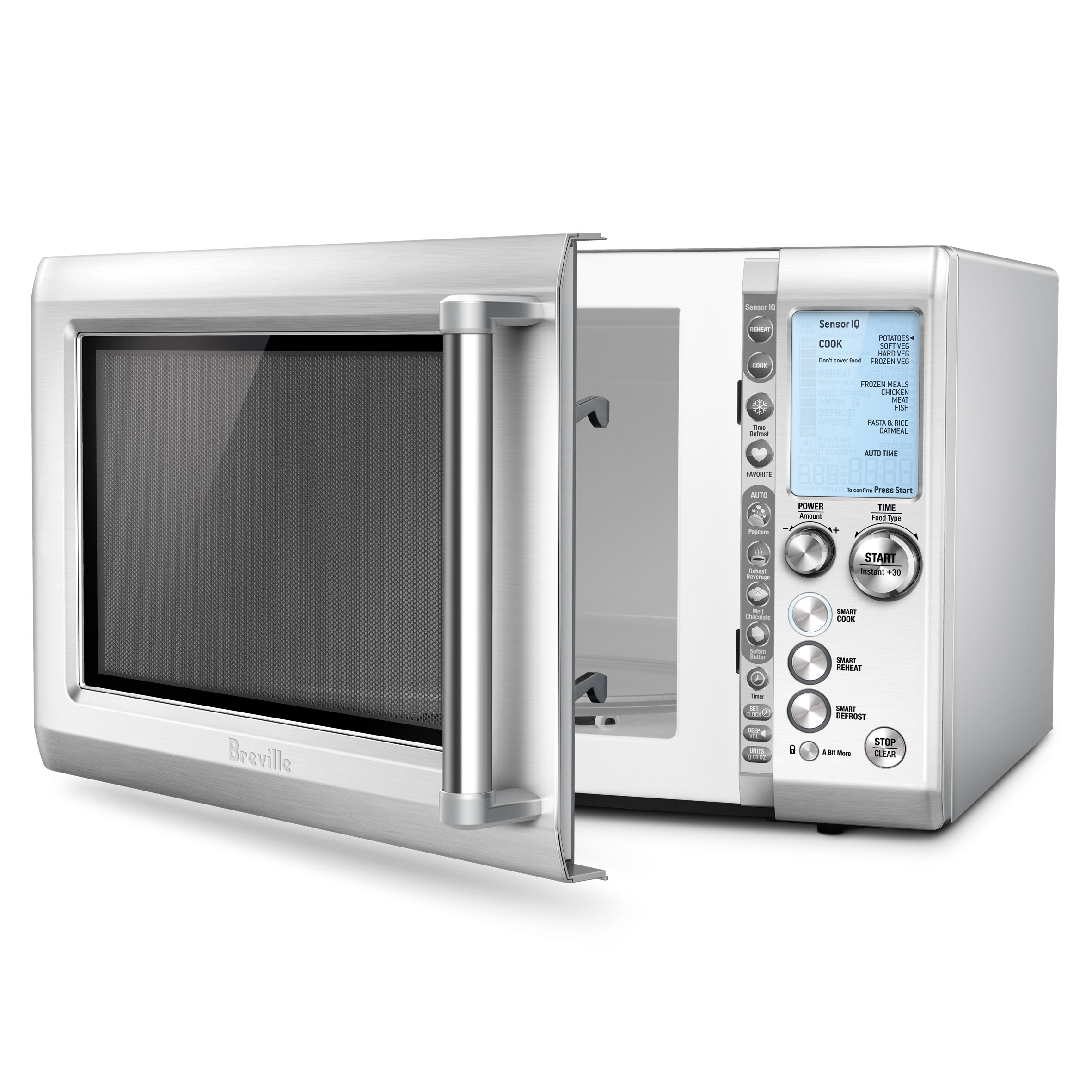 Breville 1 2 Cu Ft 1100w Microwave Amp Reviews Wayfair