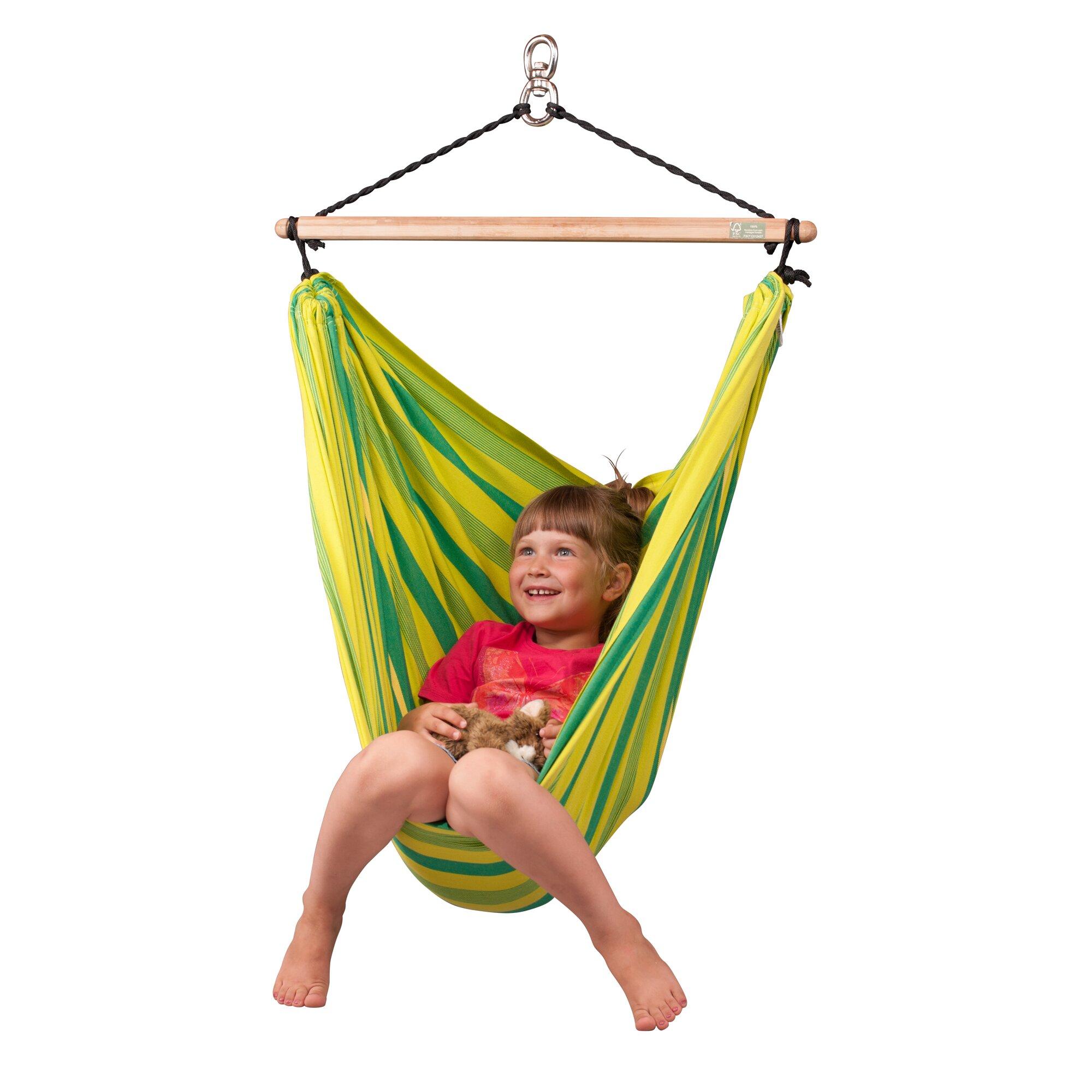 LA SIESTA LORI Organic Hammock Chair for Kids & Reviews ...