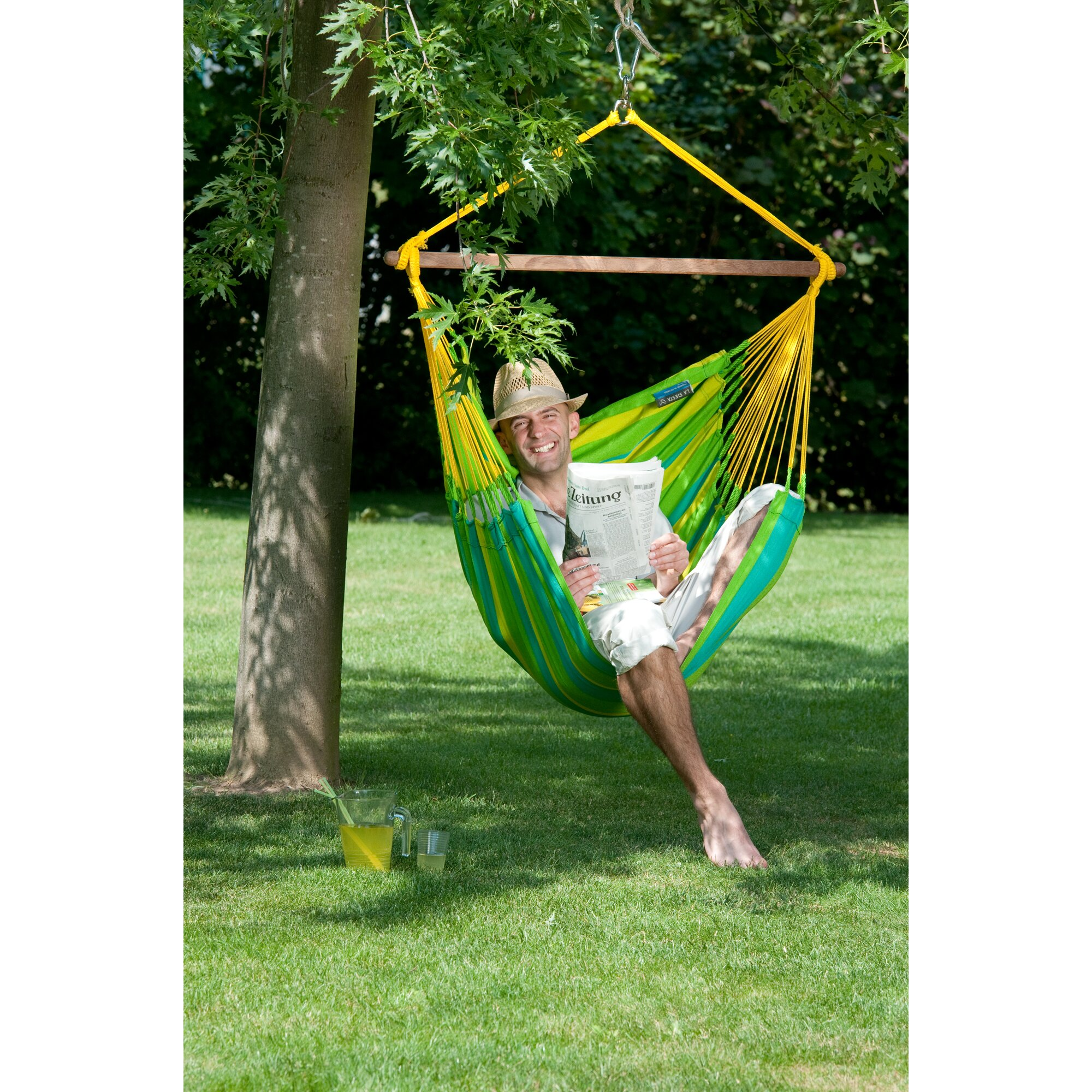 LA SIESTA SONRISA Weatherproof Hammock Chair Basic amp; Reviews  Wayfair