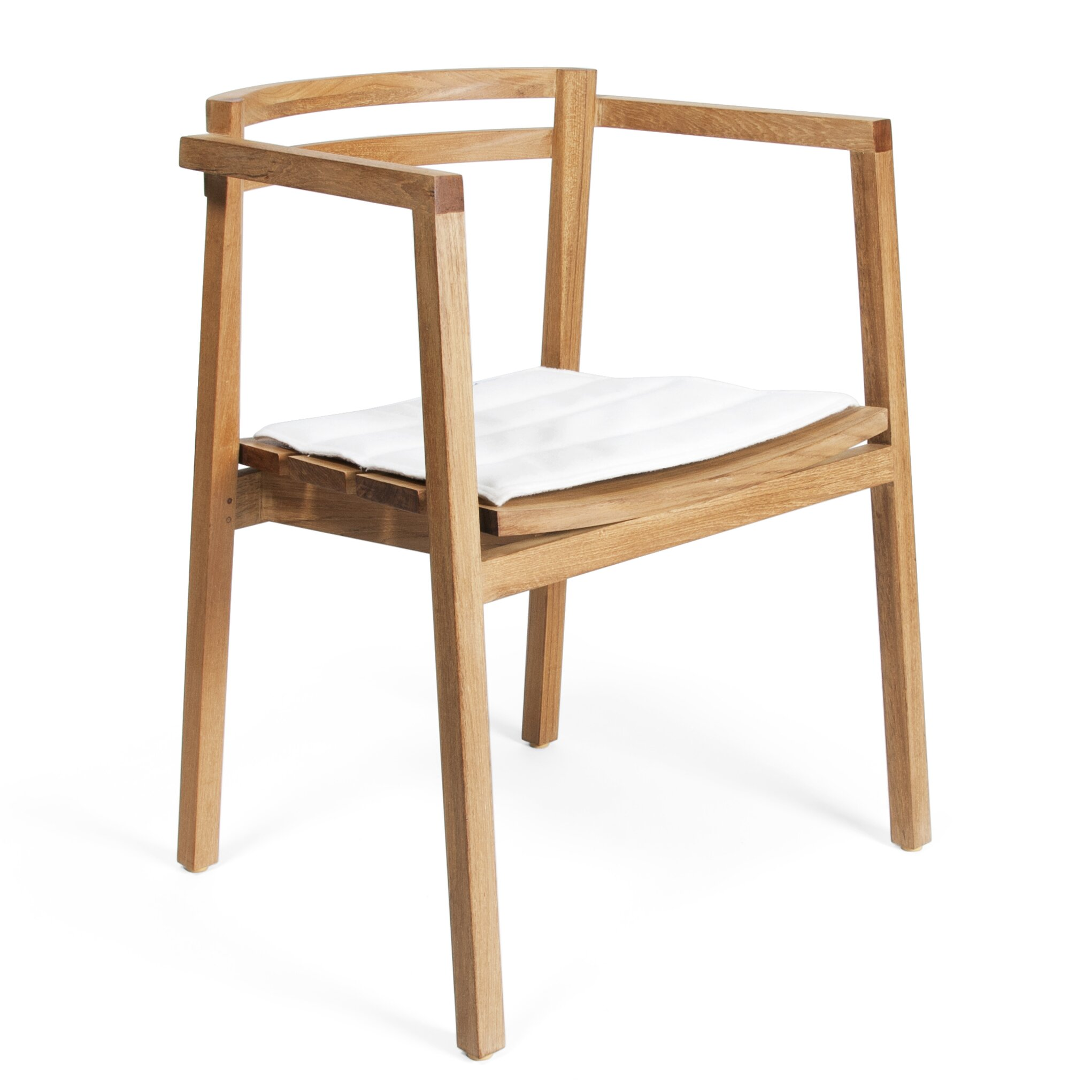 Marvelous photograph of Skargaarden Oxno Dining Arm Chair with Cushion & Reviews Wayfair with #976934 color and 2042x2042 pixels