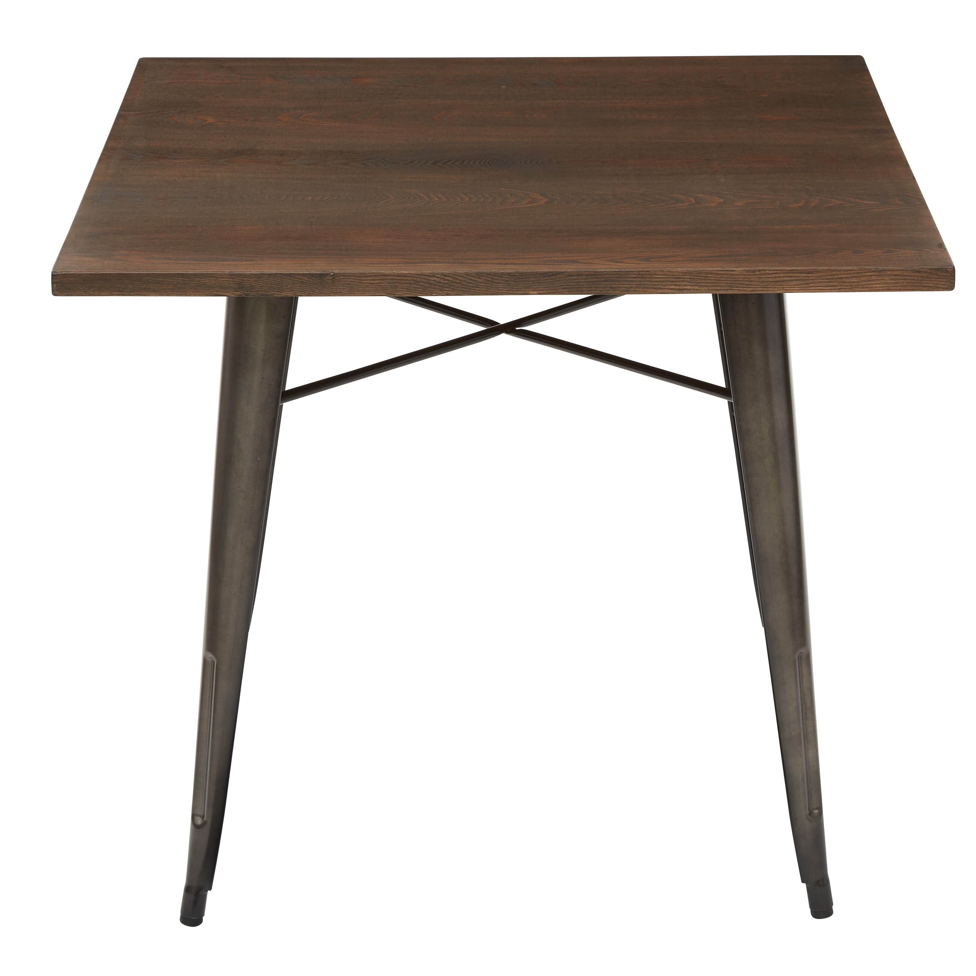 OSP Designs Indio Dining Table amp Reviews Wayfair : Indio Metal Dining Table Matte Gunmetal Frame Finish with Vintage Ash Walnut Finish Table Top IND432 C209 1 from www.wayfair.com size 3253 x 3253 jpeg 709kB