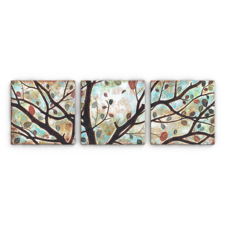 Artefx Decor Rustling Leaves Triptych by Studio 212 3 ...