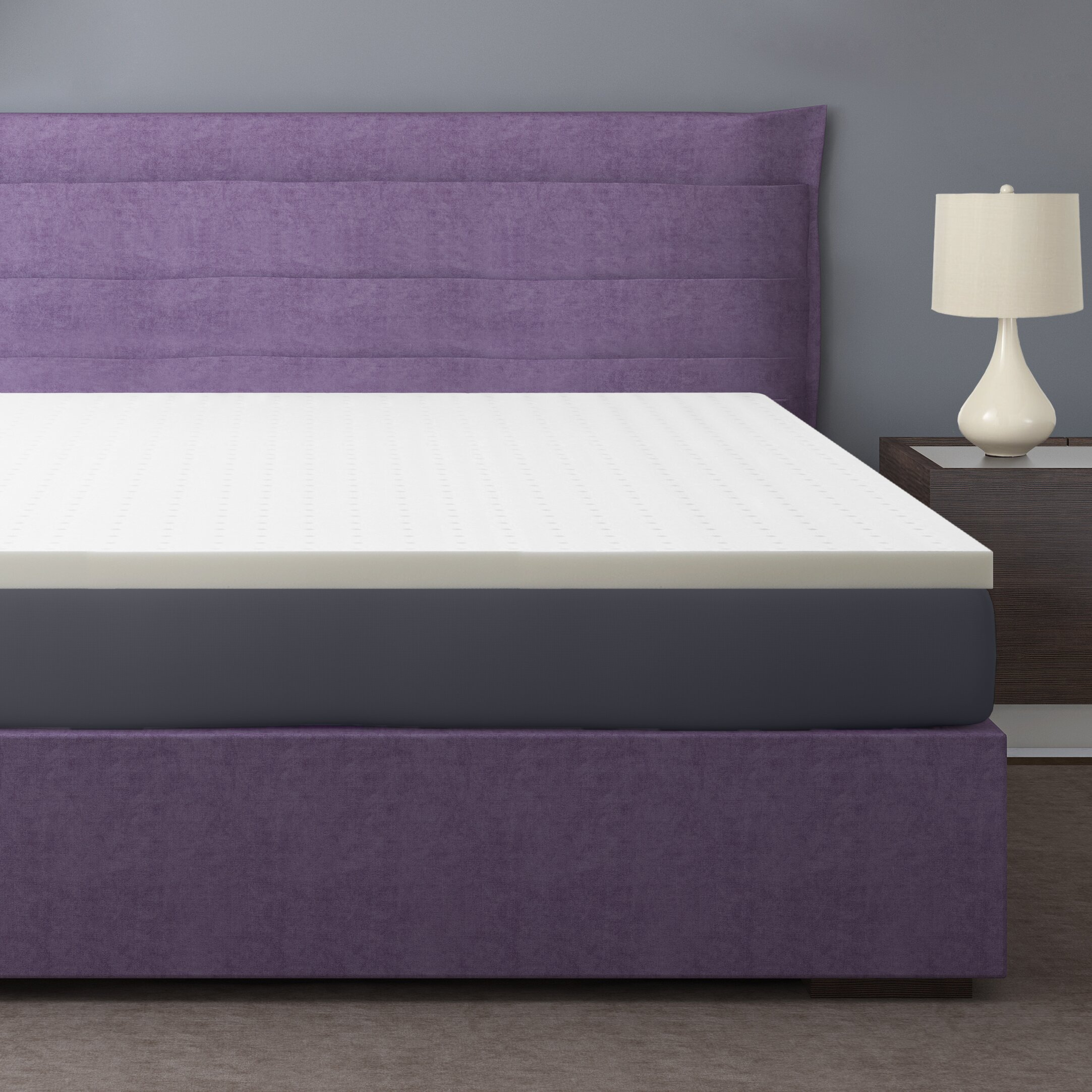 Best Price Quality 2 Ventilated Memory Foam Mattress Topper Reviews