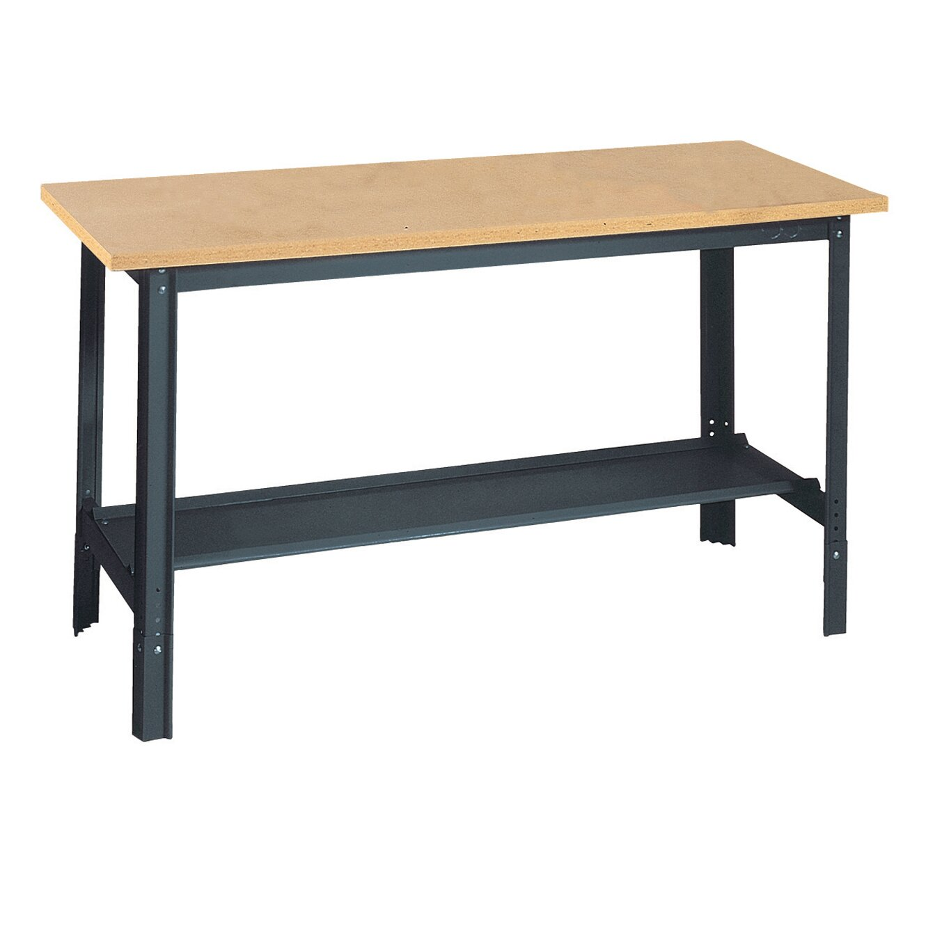 Edsal Sandusky Economy Height Adjustable Particle Board Top Workbench Reviews Wayfair