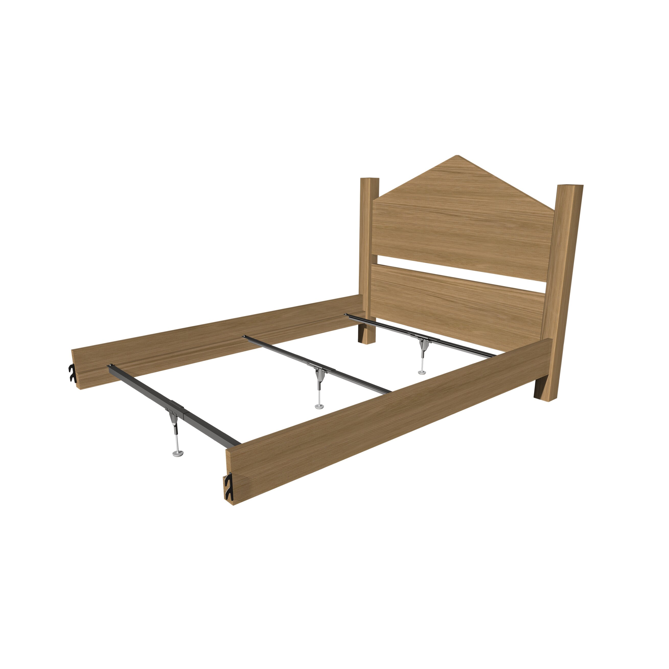 Mantua Mfg Co Support System For Wood Bed Rails