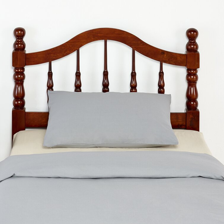 mantua mfg co traditional style wood headboard in cherry
