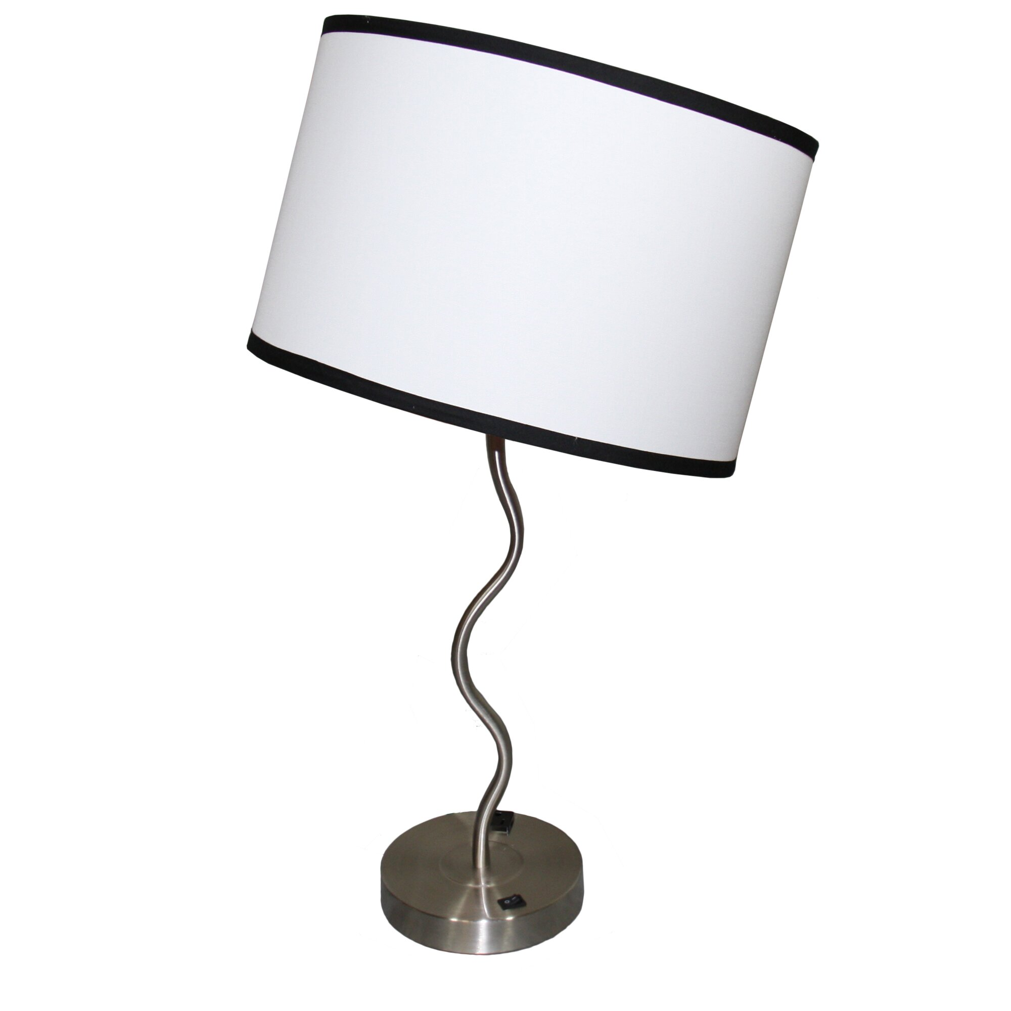 ORE Furniture Wave 28 Table Lamp Amp Reviews