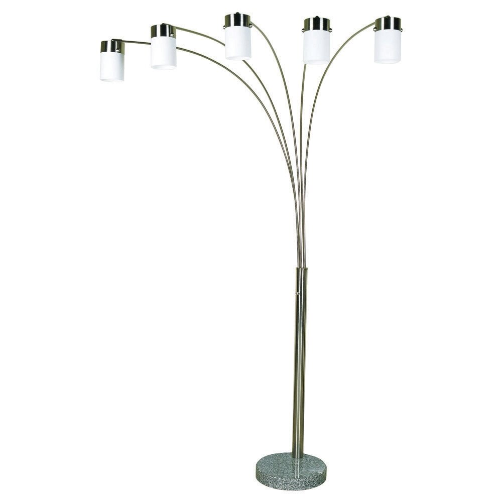Ore furniture 84 arched floor lamp reviews wayfair for Arch floor lamps for living room
