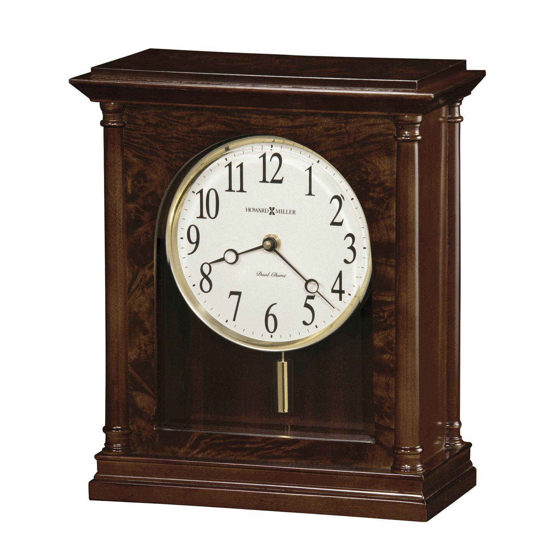 California King Size Bedroom Furniture Sets Howard Miller Candice Chiming Quartz Mantel Clock Wayfair
