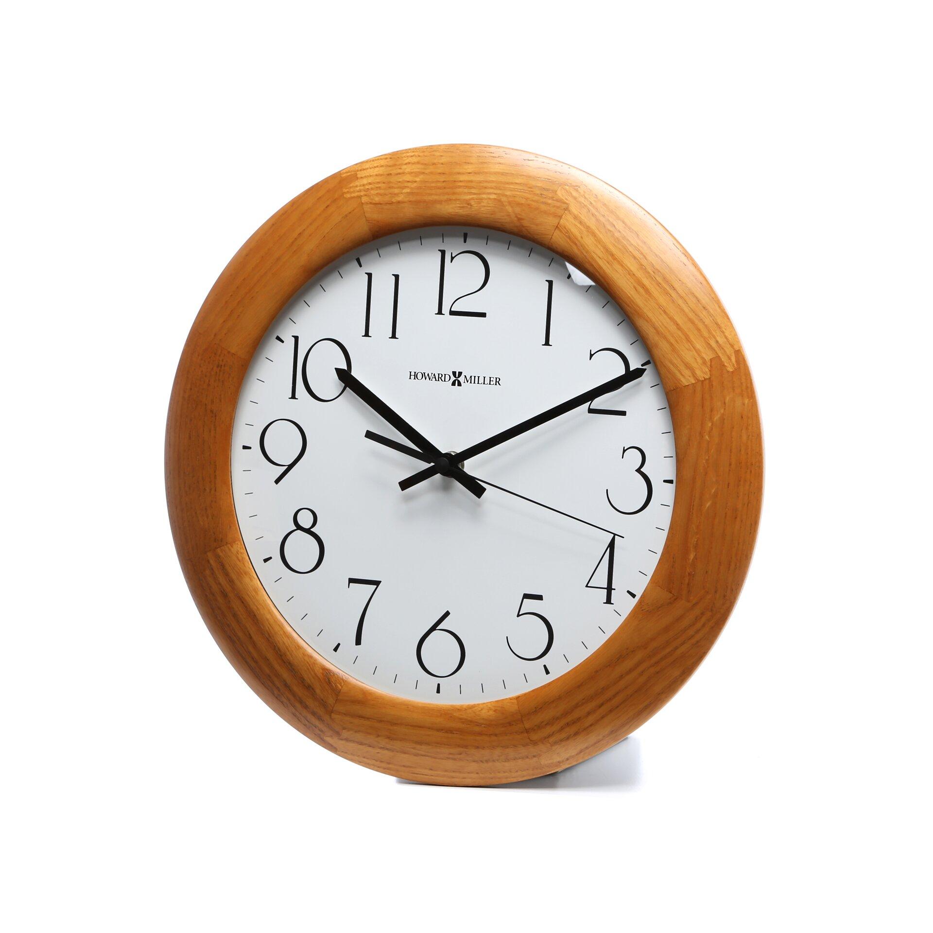 Howard Miller Santa Fe Quartz 12 75 Quot Wall Clock Amp Reviews
