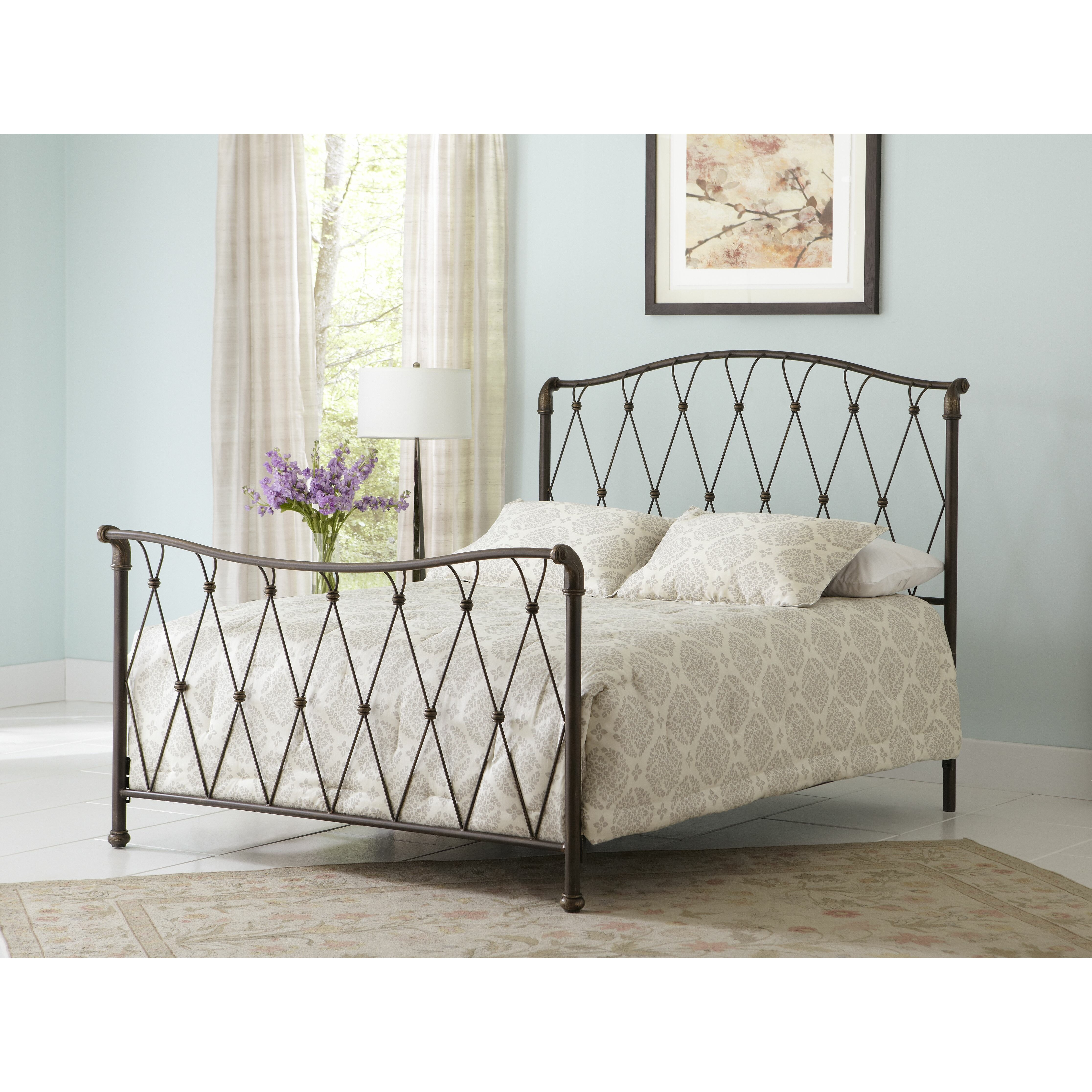 Largo Shalimar Open-Frame Headboard and Footboard & Reviews | Wayfair