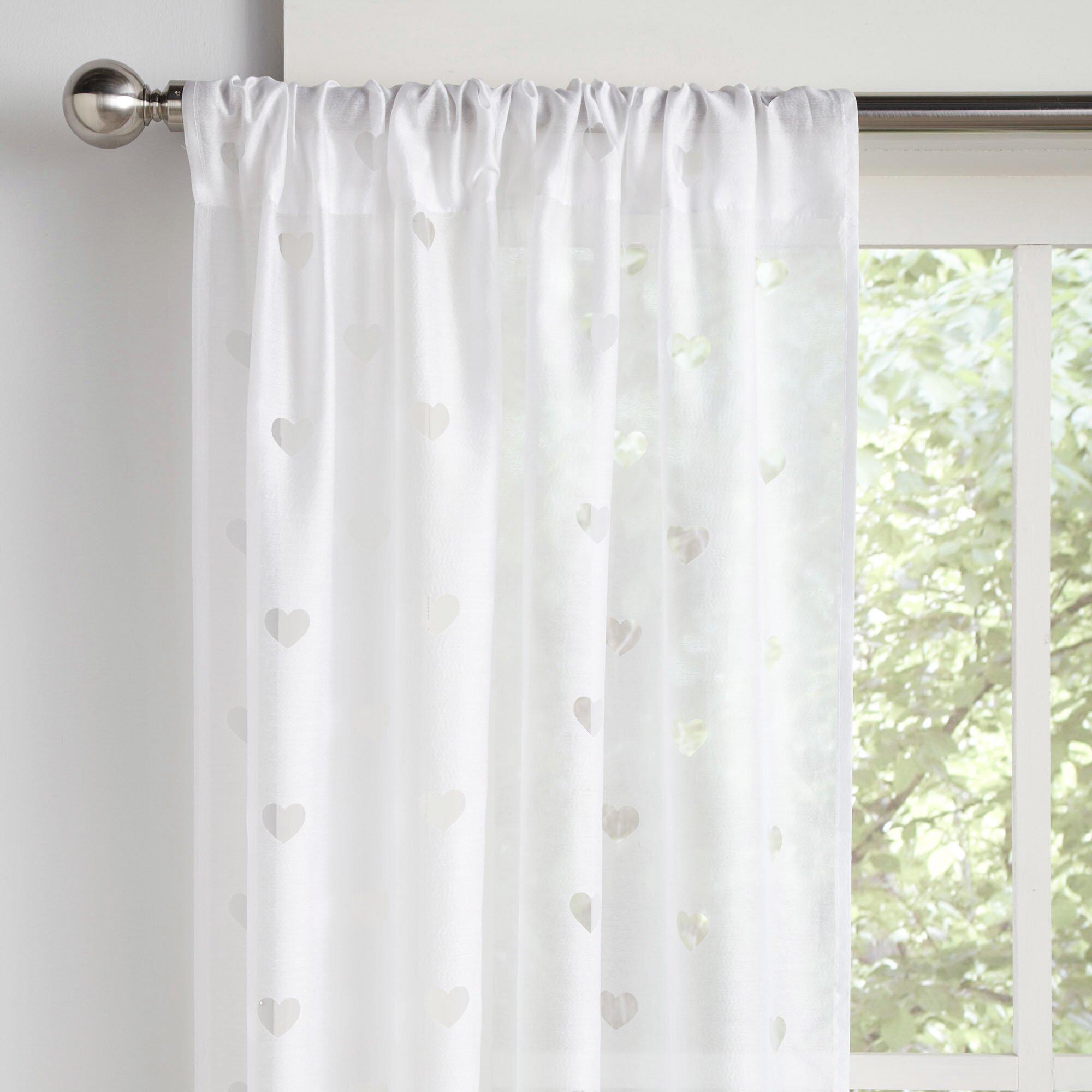 Birch Lane Kids Love It Sheer Curtain Panels Reviews