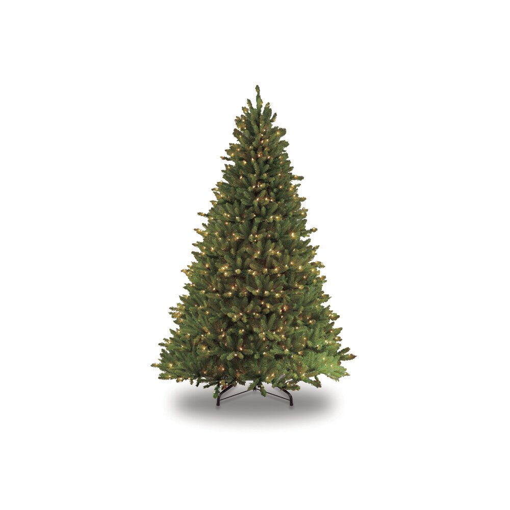 Puleo 9 39 Green Artificial Christmas Tree With 1000 Ul