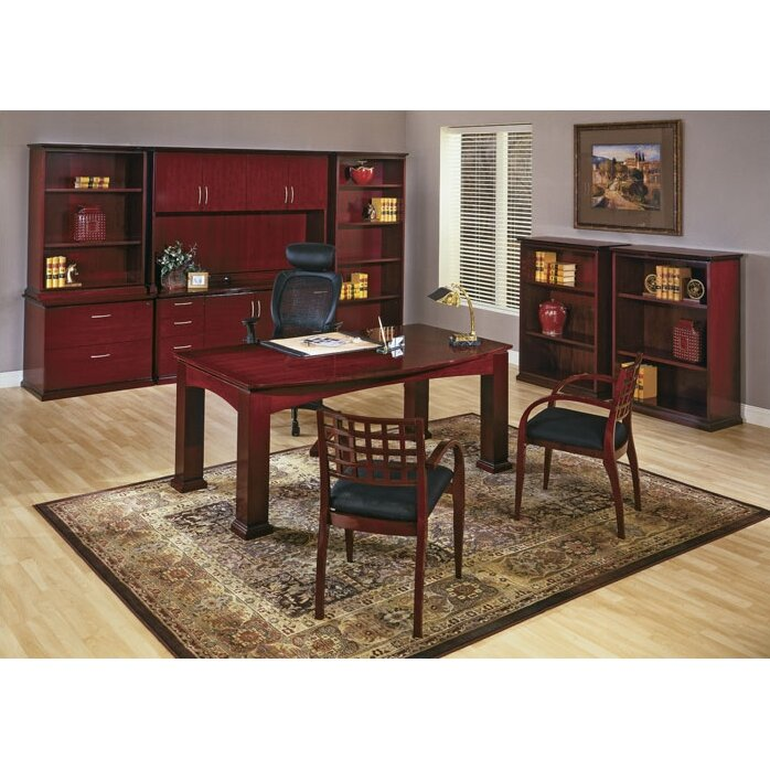 Osp furniture mendocino standard 7 piece desk office suite for Furniture 7 reviews