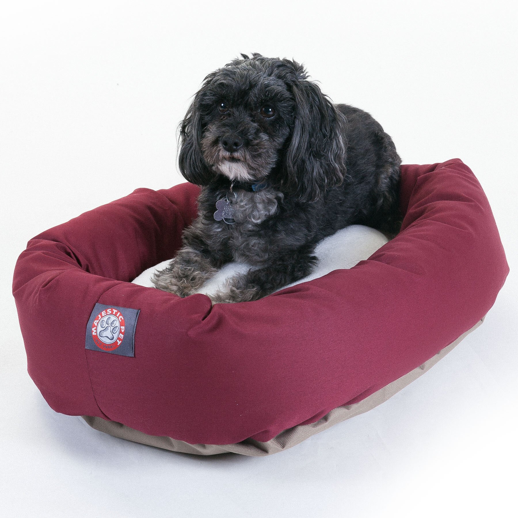 Medium Bagel Dog Bed By Majestic Pet Products