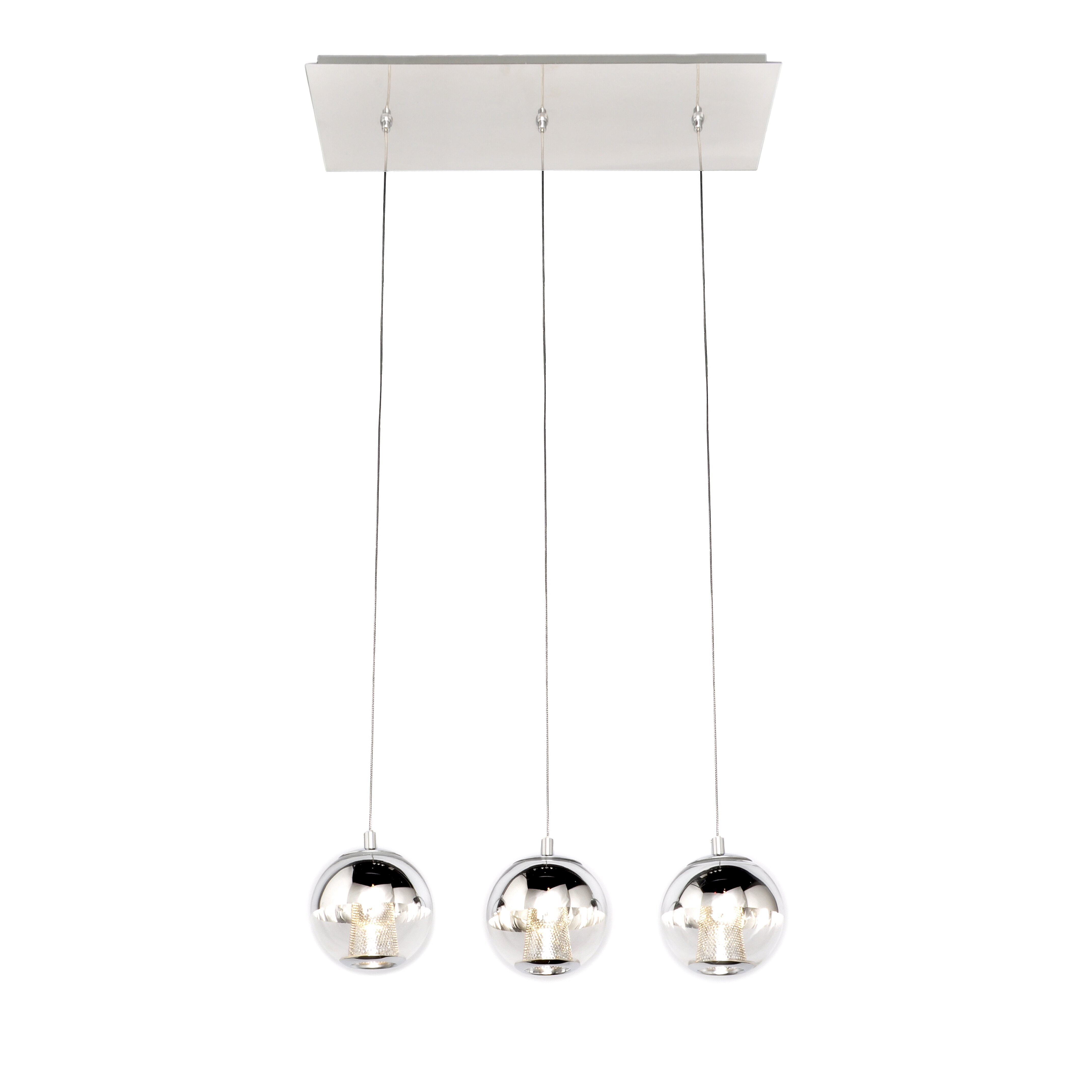 ET2 Reflex 3 LED Integrated Bulb Kitchen Island Pendant