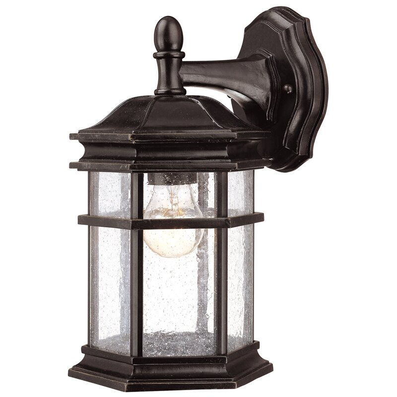 Wayfair Outdoor Wall Lights : Dolan Designs Barlow 1 Light Outdoor Wall Lantern & Reviews Wayfair