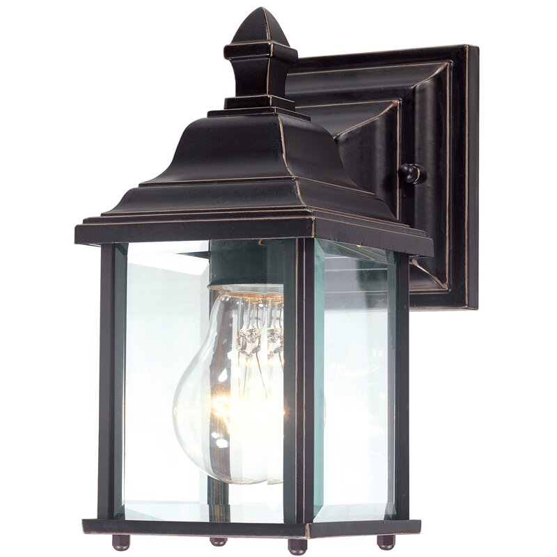 Dolan Designs Charleston 1 Light Outdoor Wall Lantern Reviews Wayfair