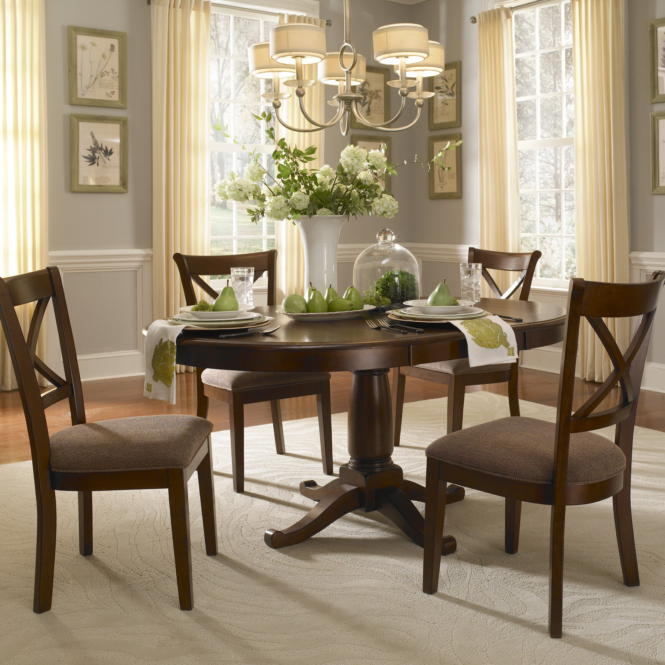 Dining Room Table Sets: A-America Desoto Extendable Dining Table & Reviews