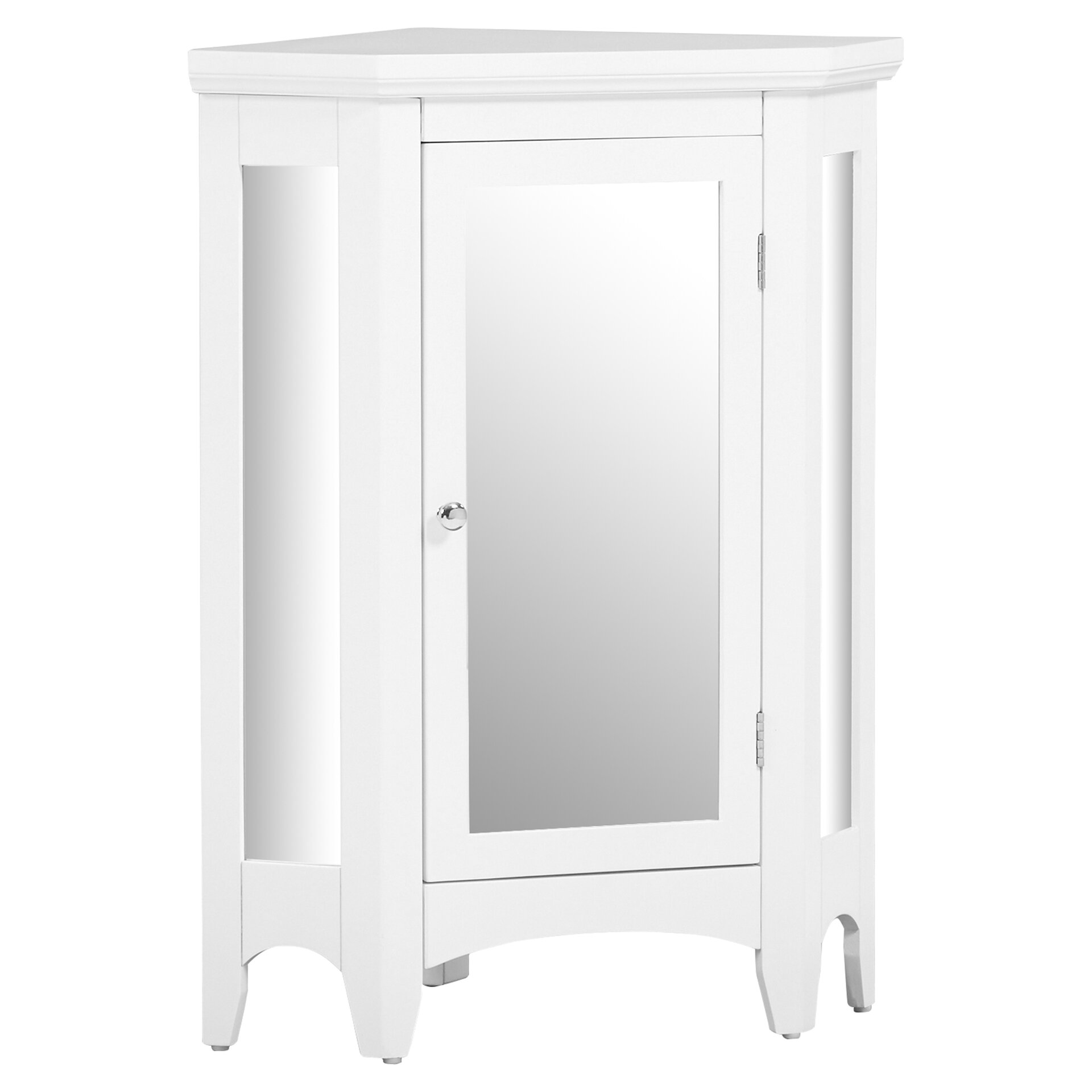 75 x 32 mirrored corner free standing cabinet reviews