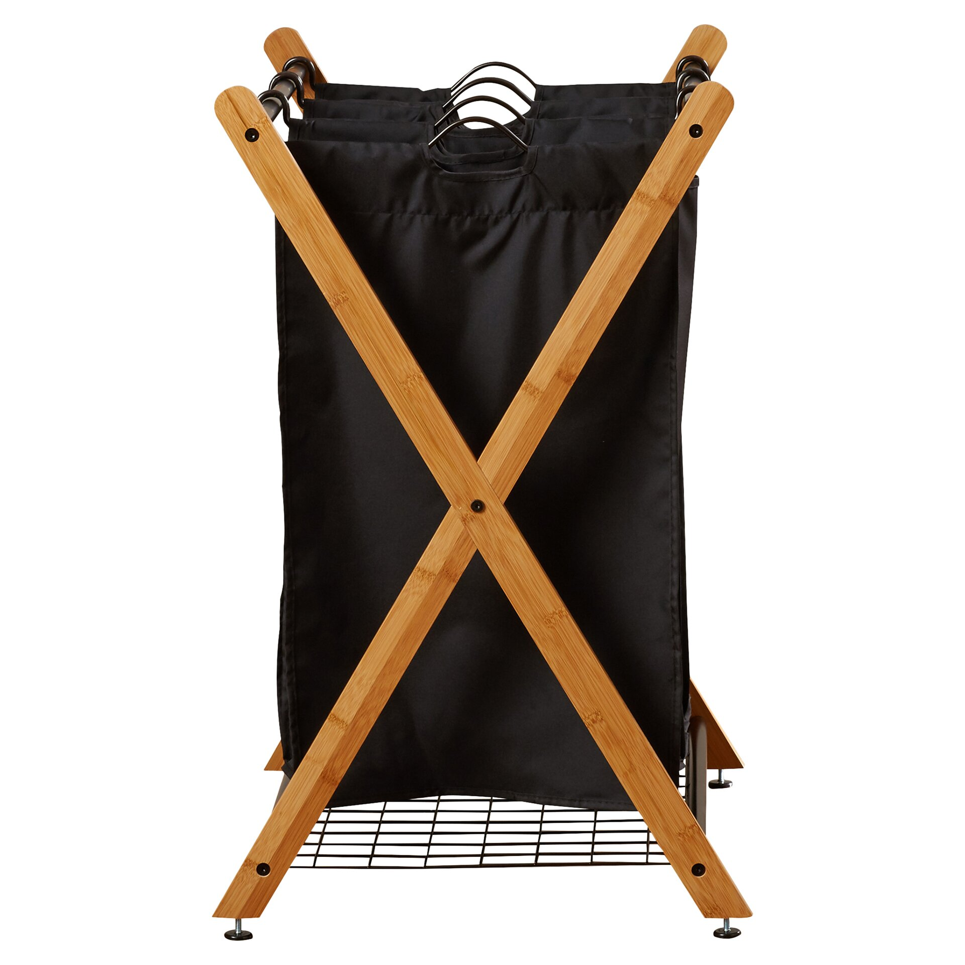 Brayden Studio 3 Bag Laundry Sorter Amp Reviews Wayfair