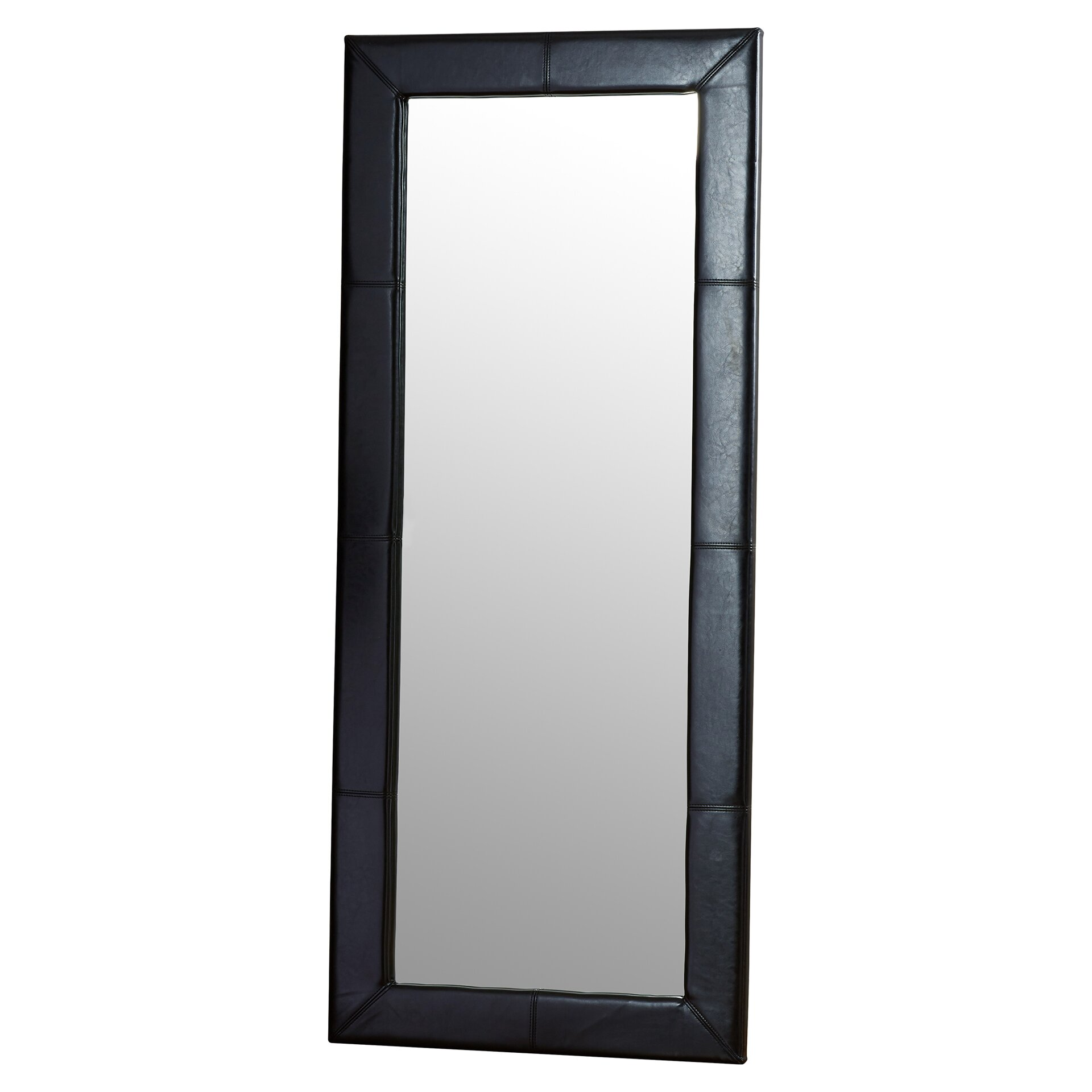 Wade logan floor mirror reviews wayfair for Mirror on the floor