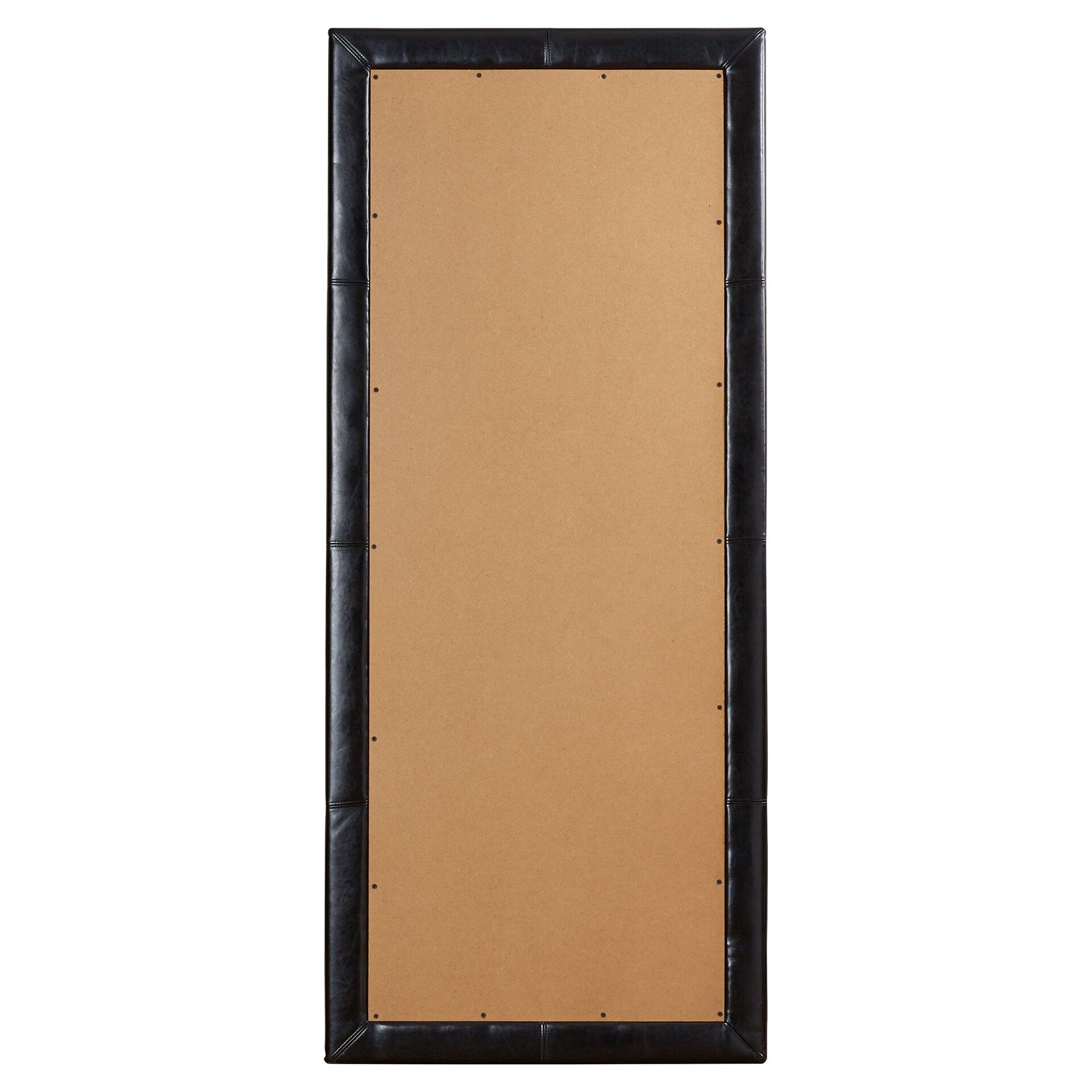 Wade logan floor mirror reviews wayfair for Glass floor mirror