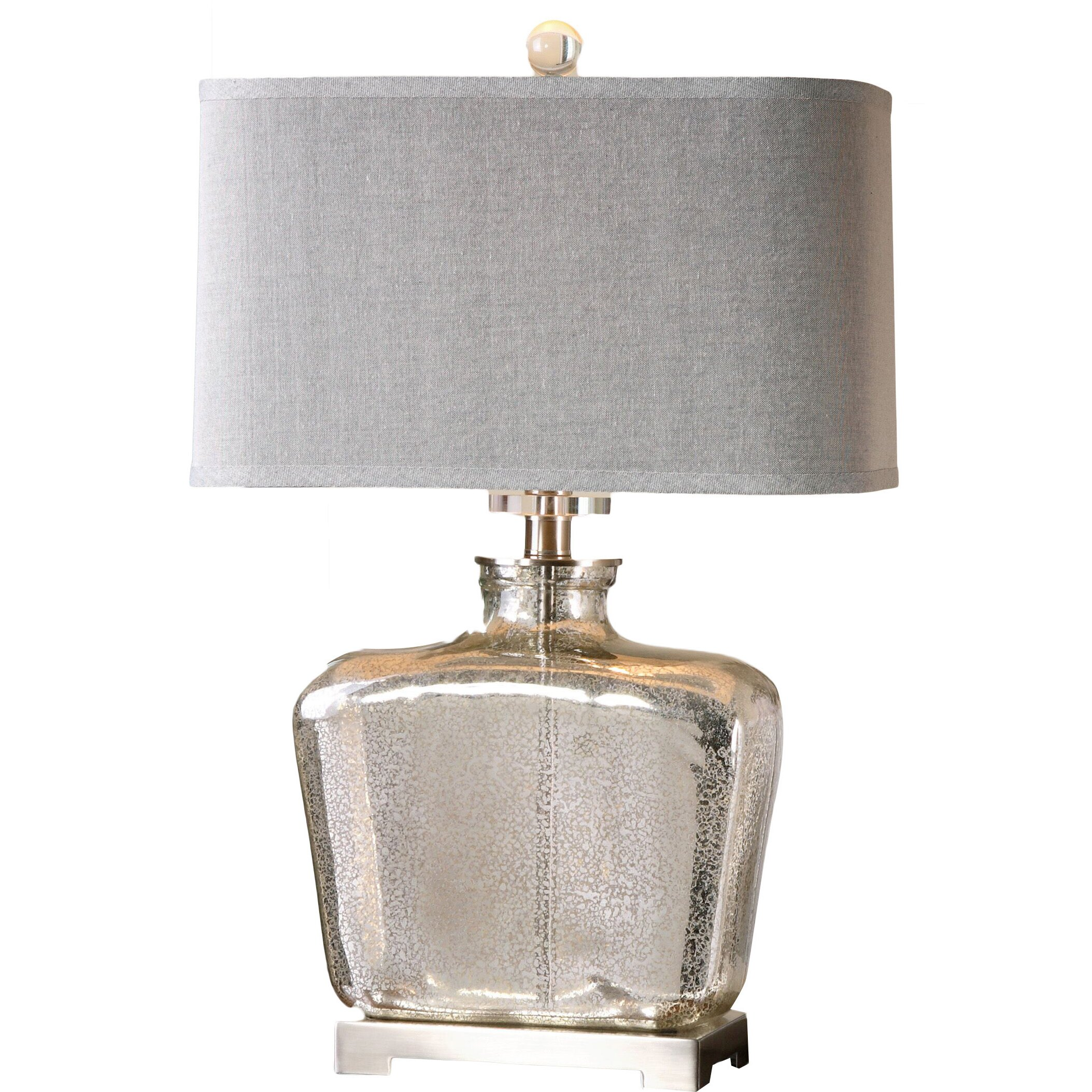 Uttermost Molinara 28 H Table Lamp With Rectangular Shade