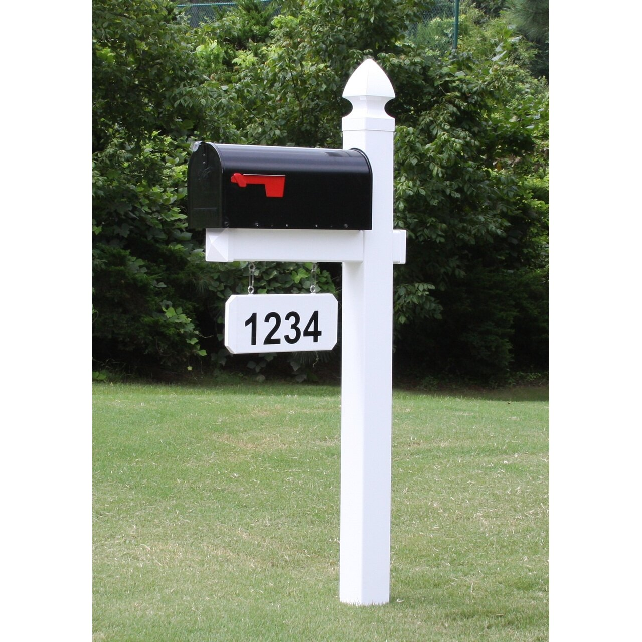 4everproducts Post Mounted Mailbox Amp Reviews Wayfair