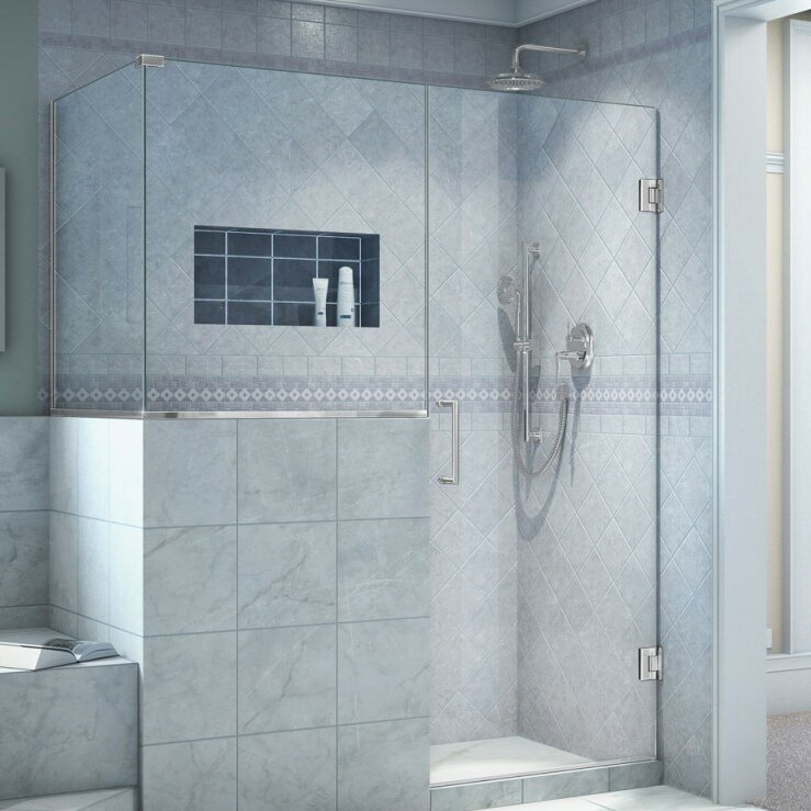 "DreamLine Unidoor-X 48"" W X 40.38"" D Hinged Shower"