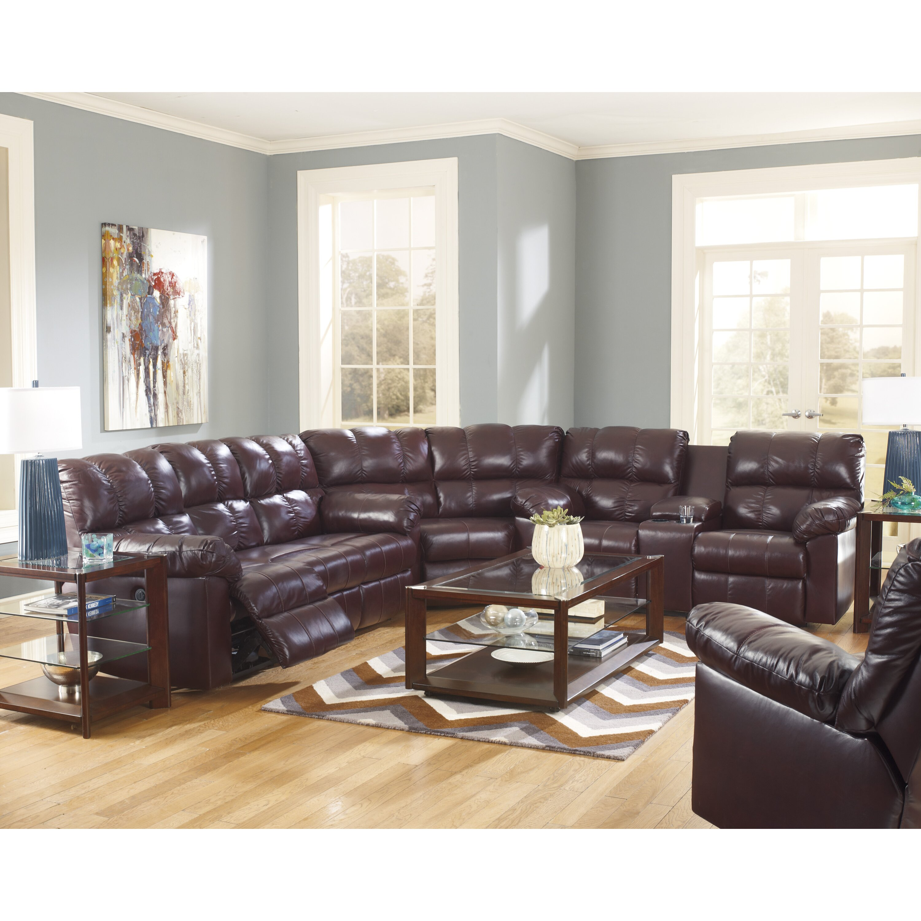 Signature Design By Ashley Kennett Sectional Reviews Wayfair Supply